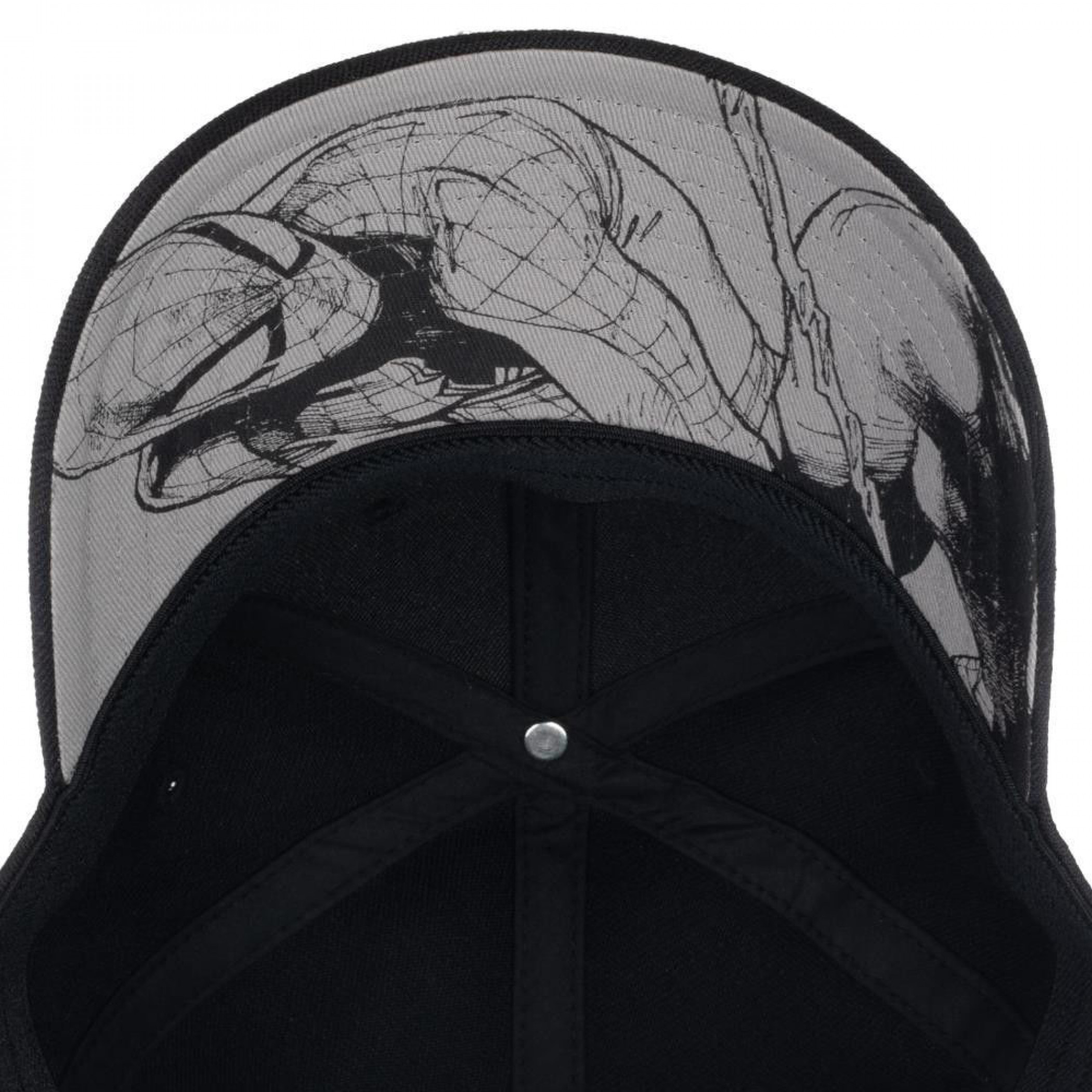 Spider-Man Embroidered Symbol Flex Fit Hat