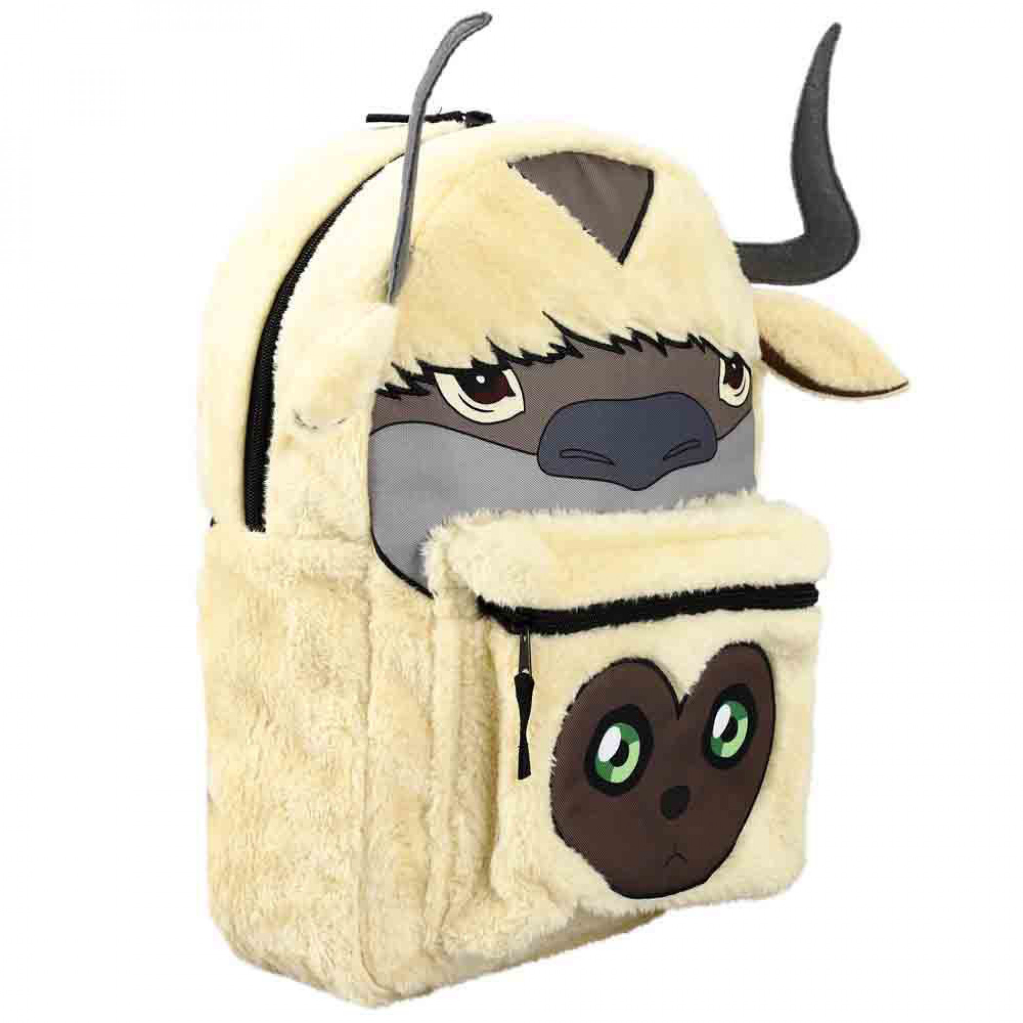 Avatar: the Last Airbender Appa & 4 Nations Reversible 3D Mini Backpack