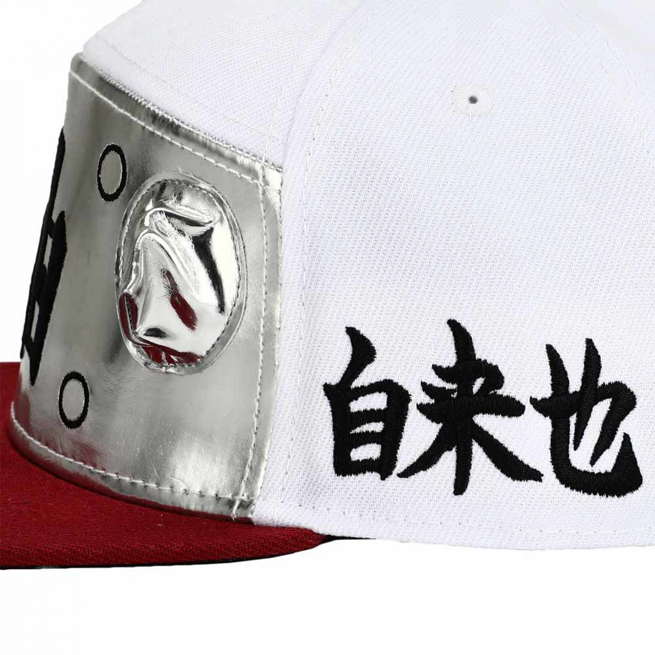 Naruto Sage Cosplay Flat Bill Snapback Hat