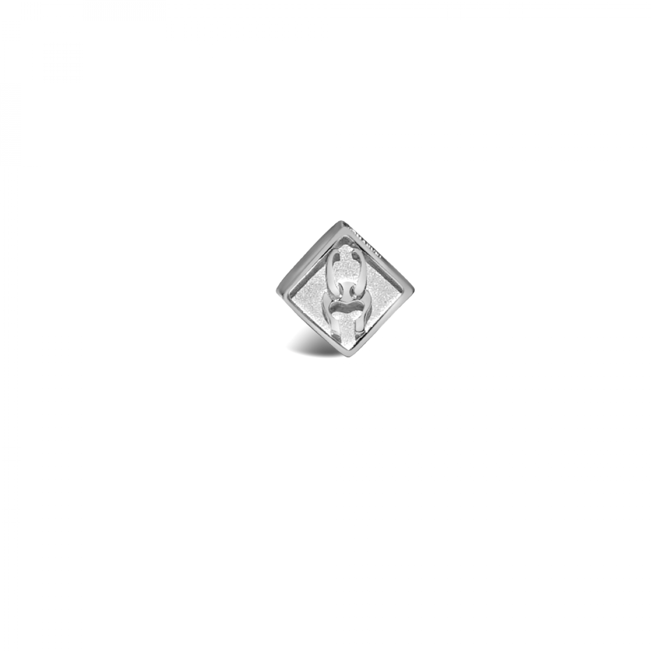 Loki Marvel Symbol Sterling Silver Bead