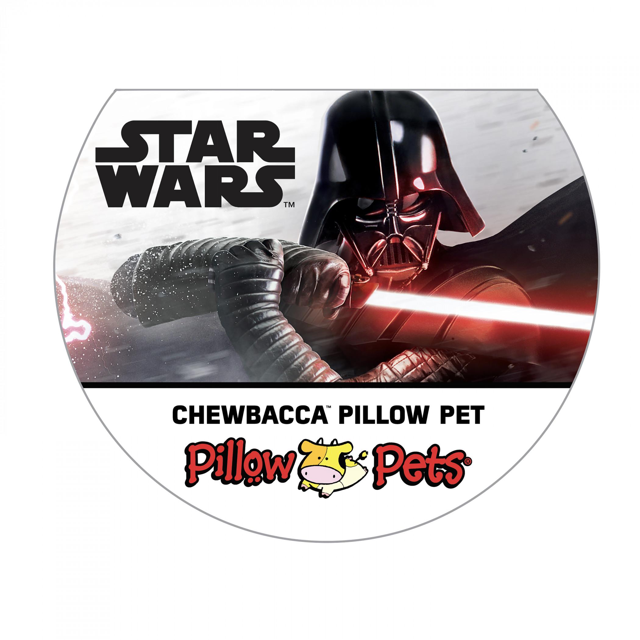 Chewy Pillow Pet - Star Wars Chewbacca Stuffed Animal Plush Toy