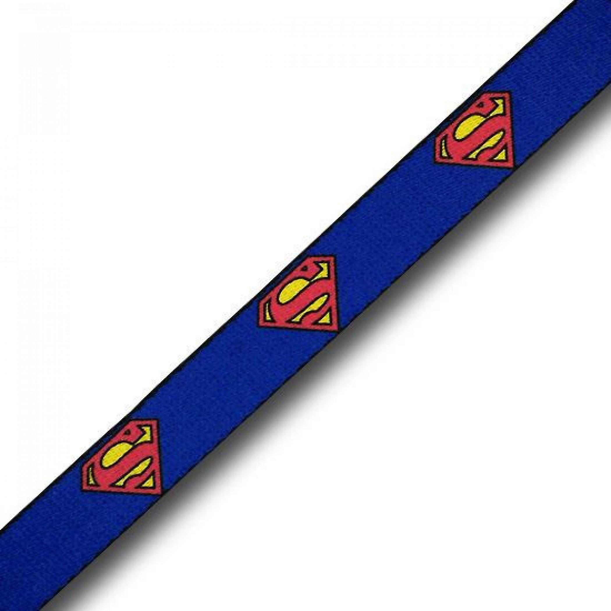 Superman Symbols Blue Kids Web Belt