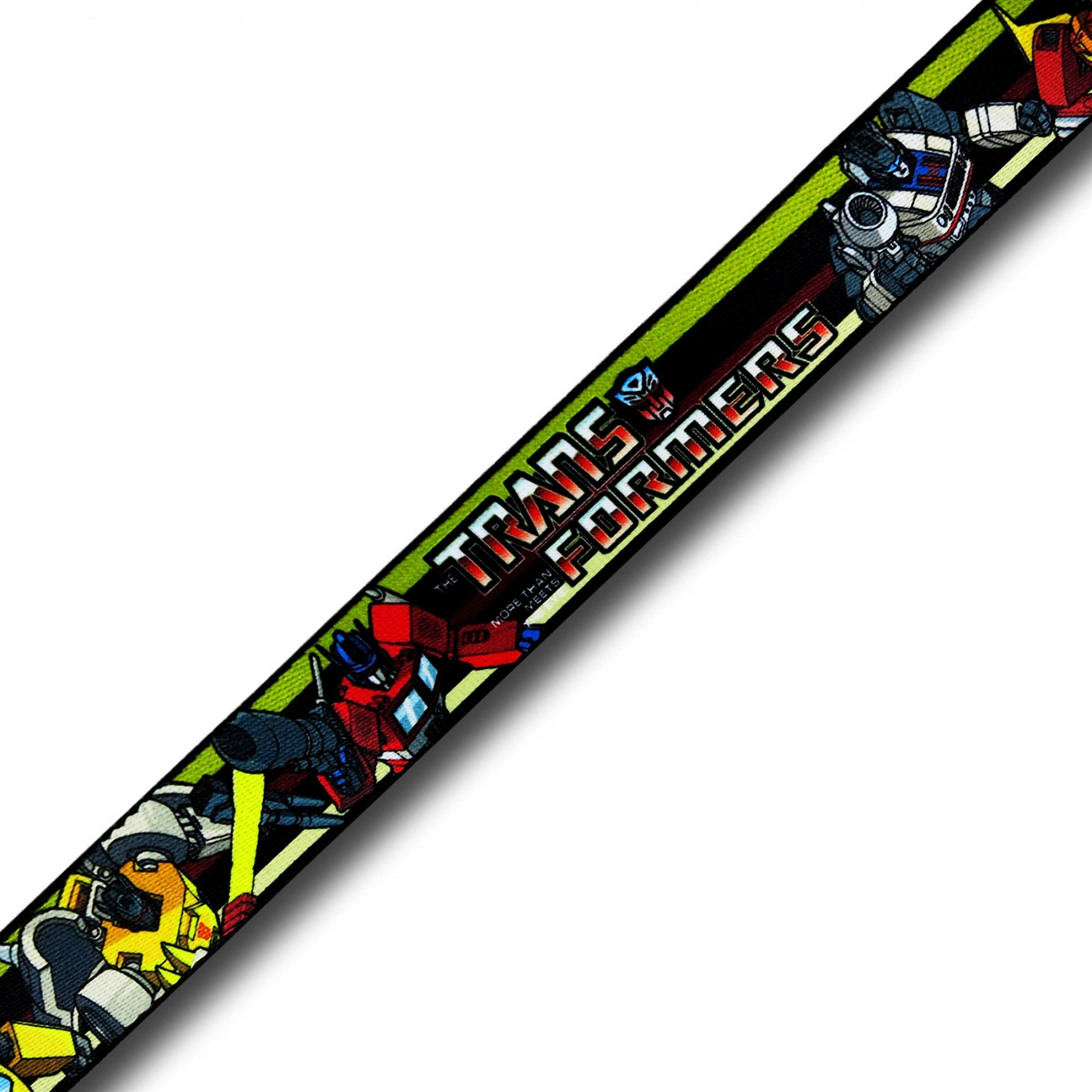 Transformers Animated Series Adult Web Belt