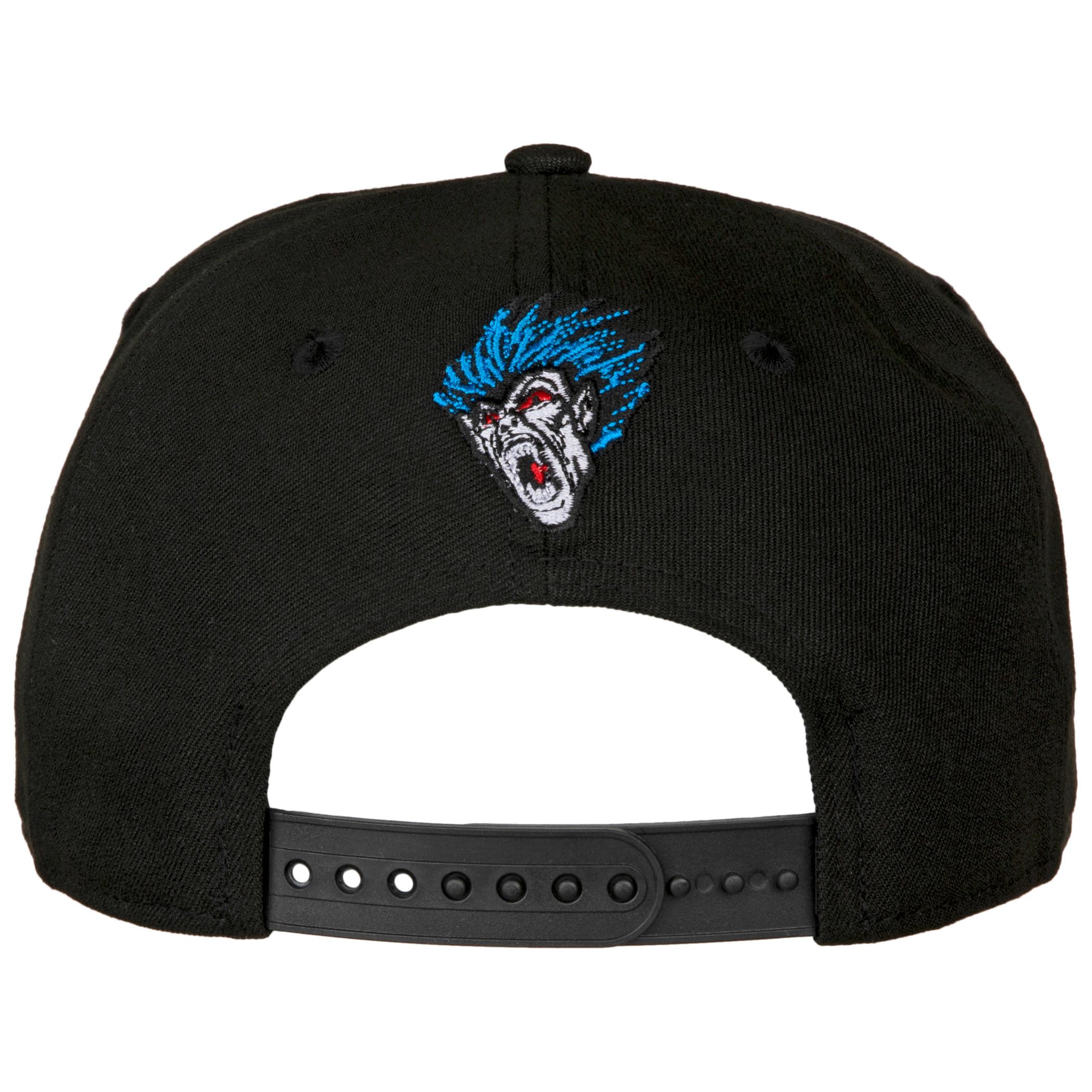 Morbius The Living Vampire Bleeding Logo New Era 9Fifty Adjustable Hat