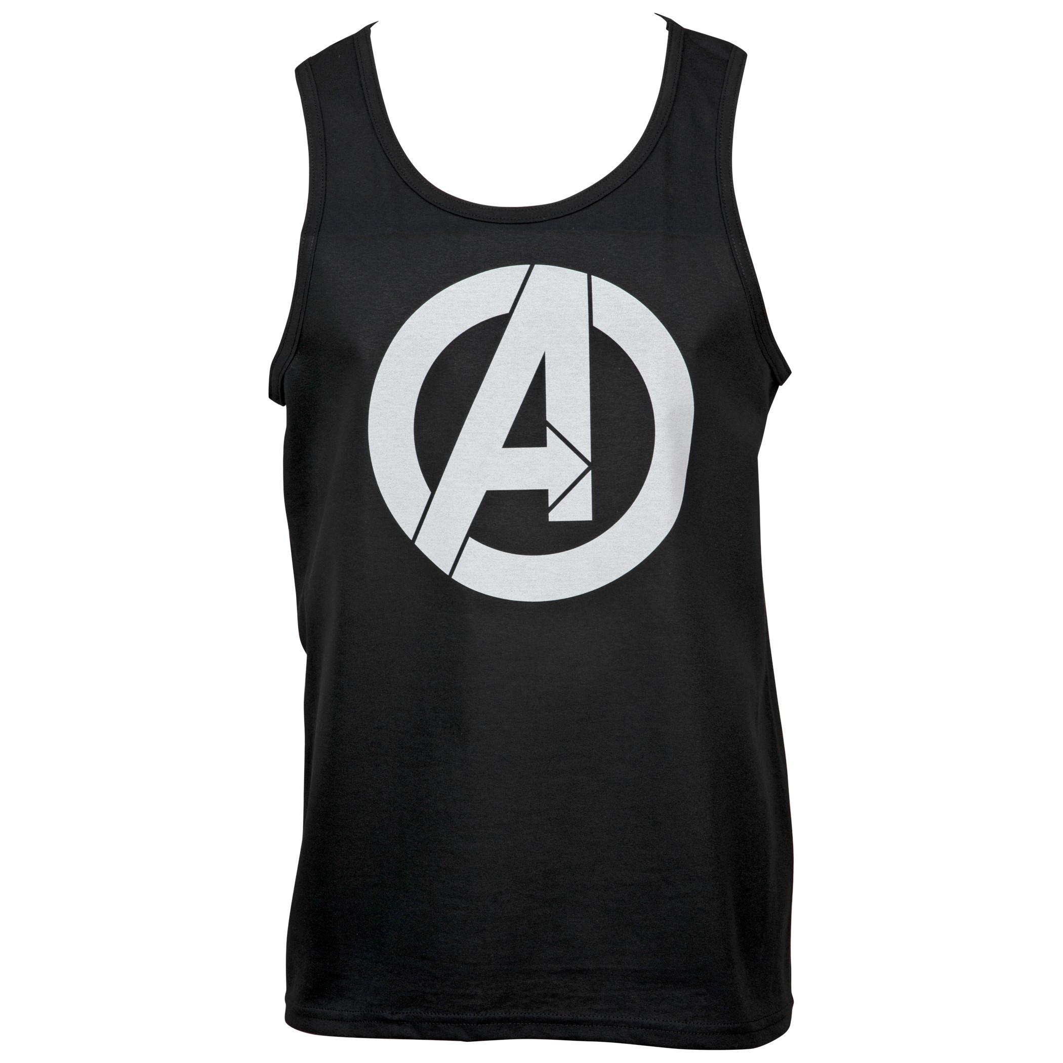 Avengers Assemble Minimal Symbol Tank Top