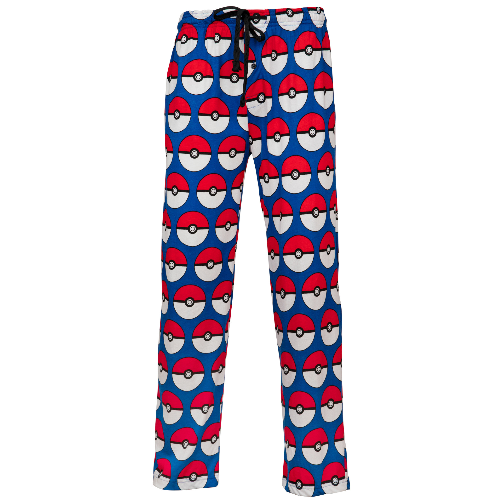 Pokemon Pokeballs All Over Print Pajama Sleep Pants