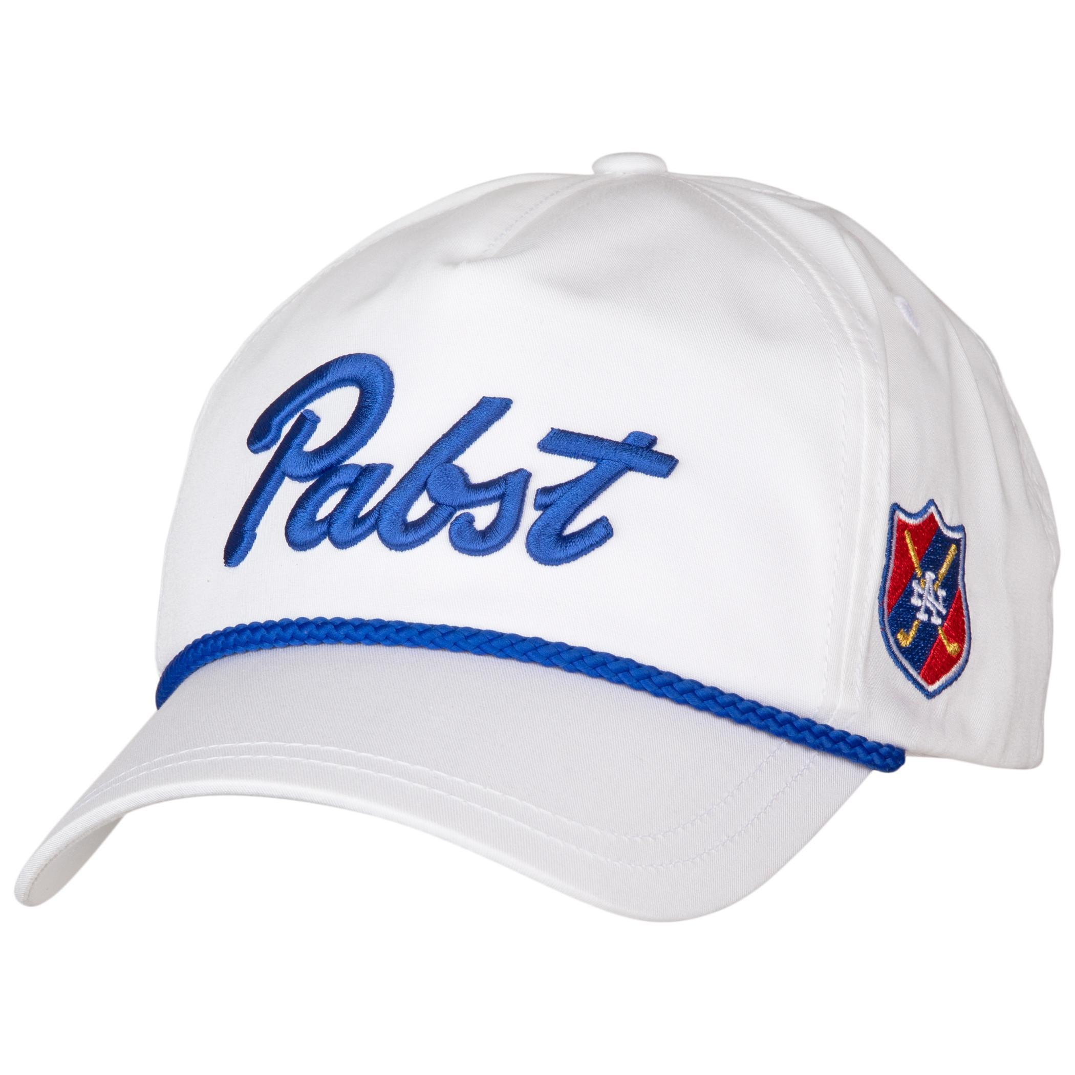 Pabst Blue Ribbon Roped Brim Hat