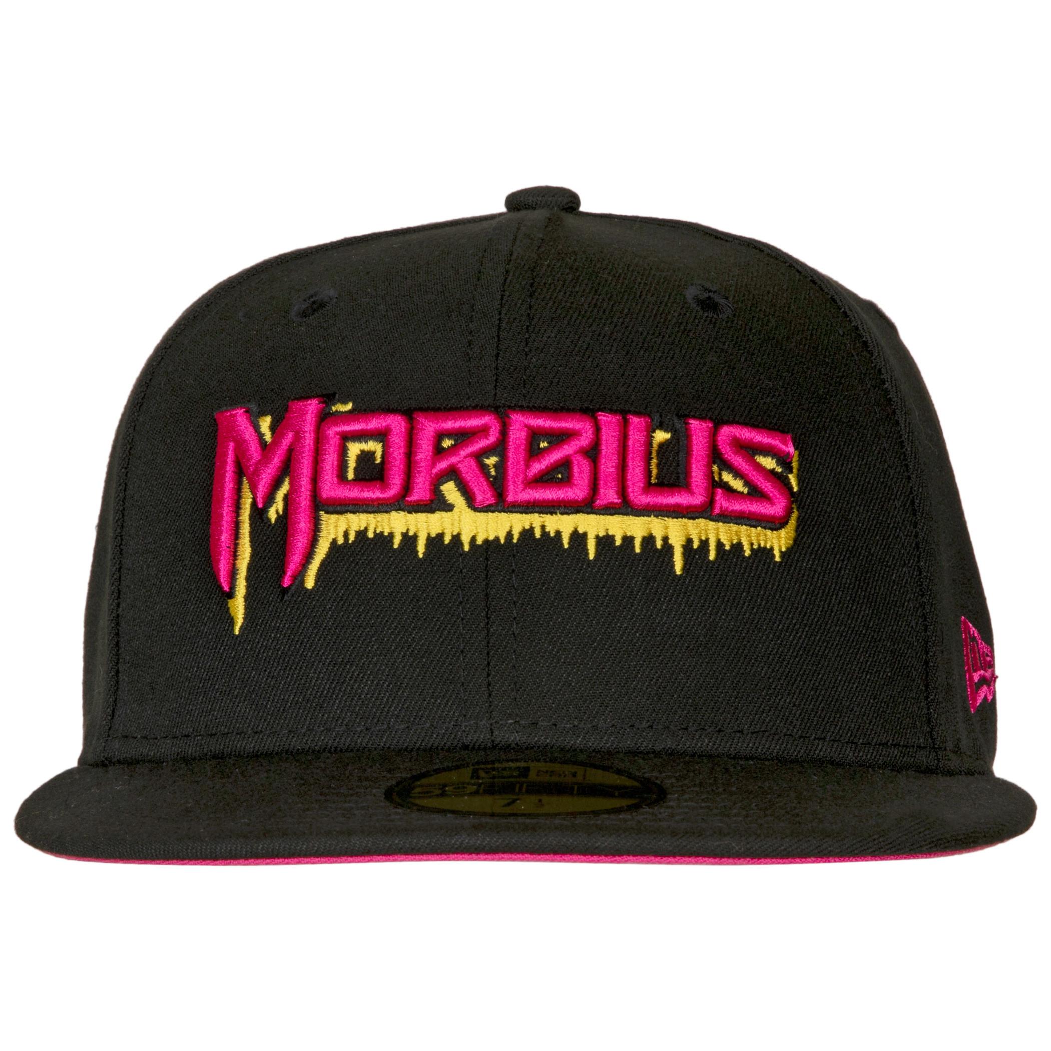 Morbius The Living Vampire Bleeding Logo New Era 59Fifty Fitted Hat