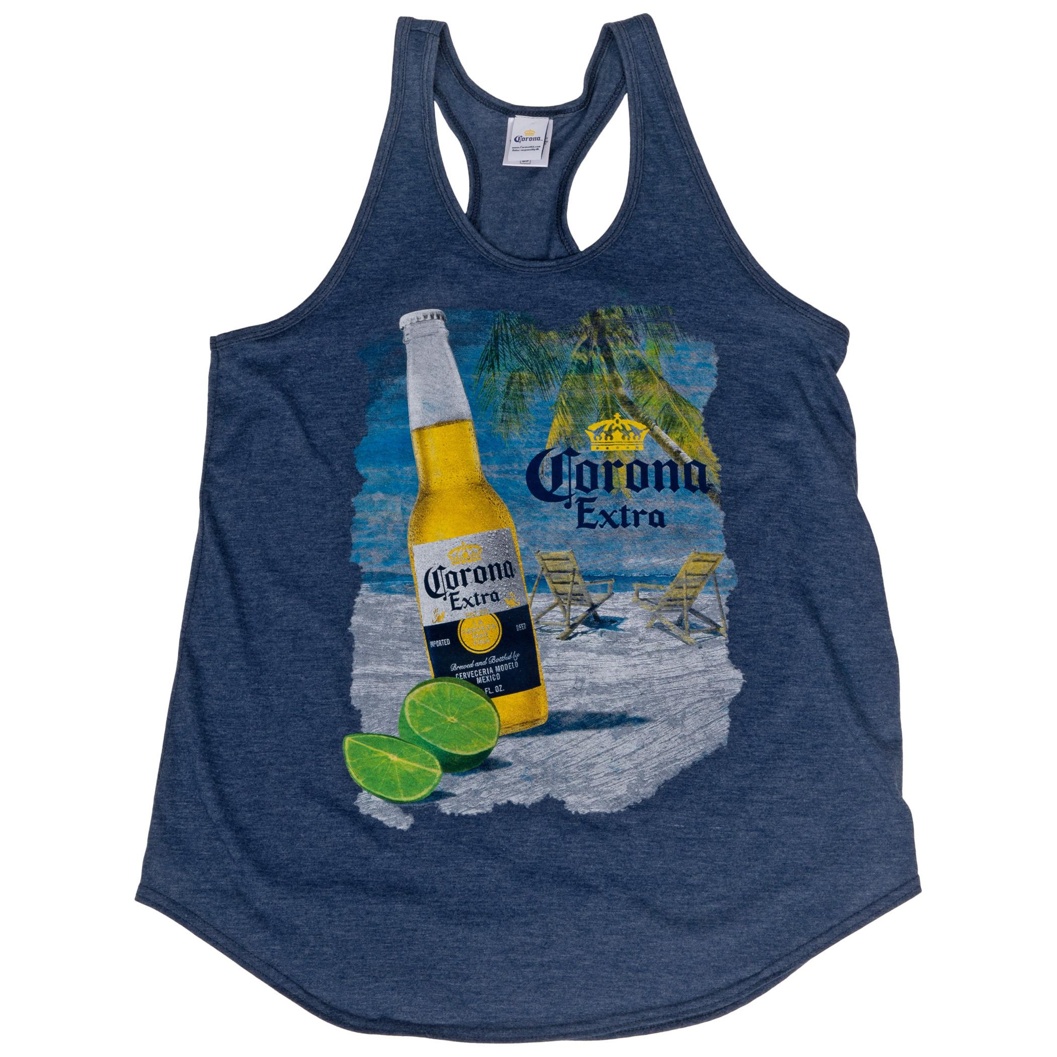Corona Extra Beach Bottle Women's Tank Top