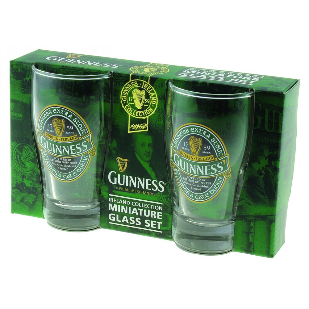 Guinness Ireland Mini Pints 2 Pack
