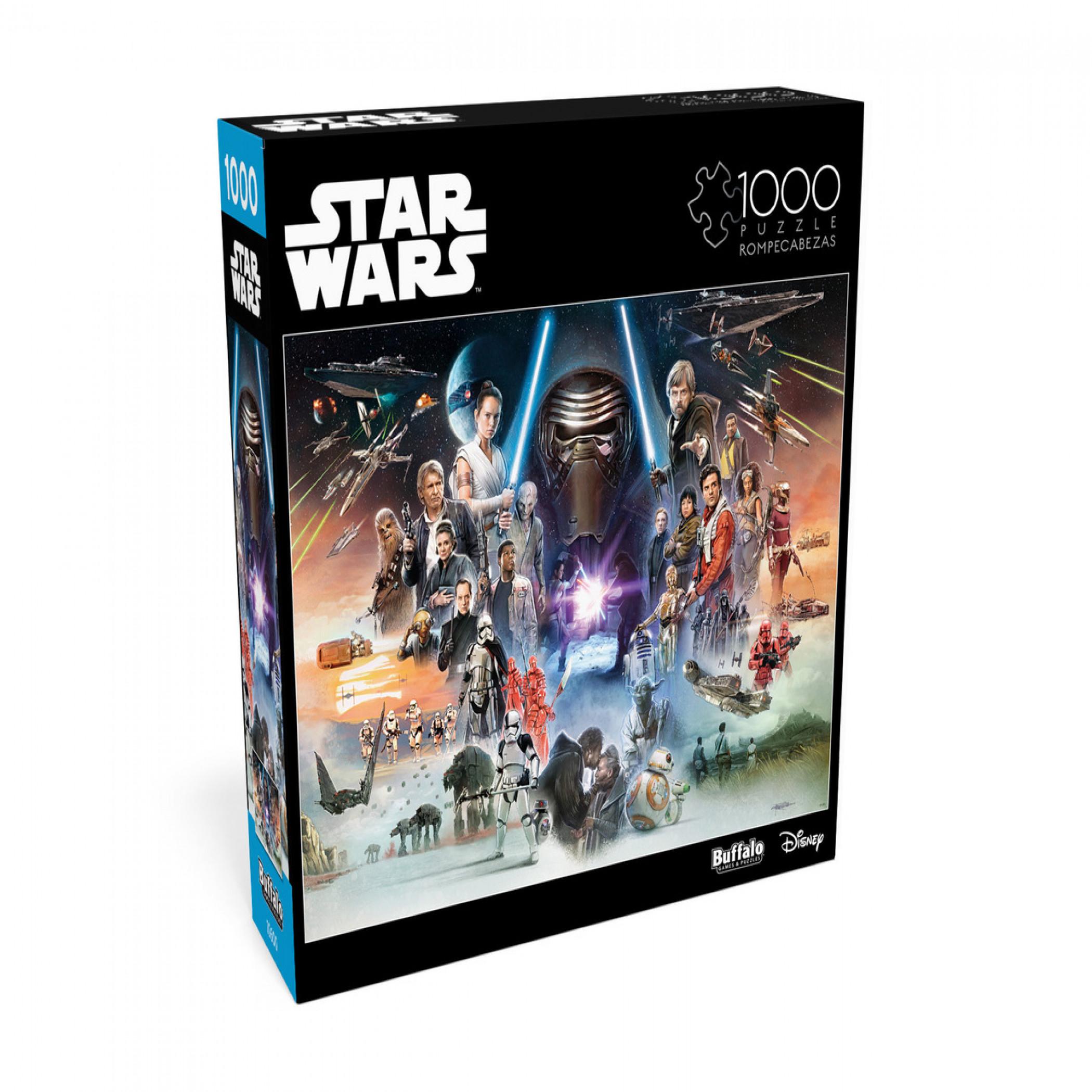 Star Wars Skywalker Saga 1000 Piece Buffalo Games Jigsaw Puzzle