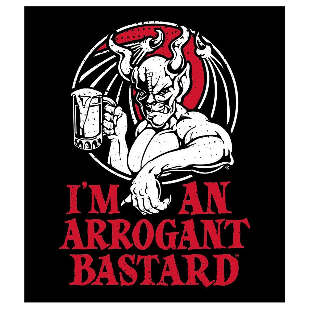 Arrogant Bastard I'm An Arrogant Bastard Sticker