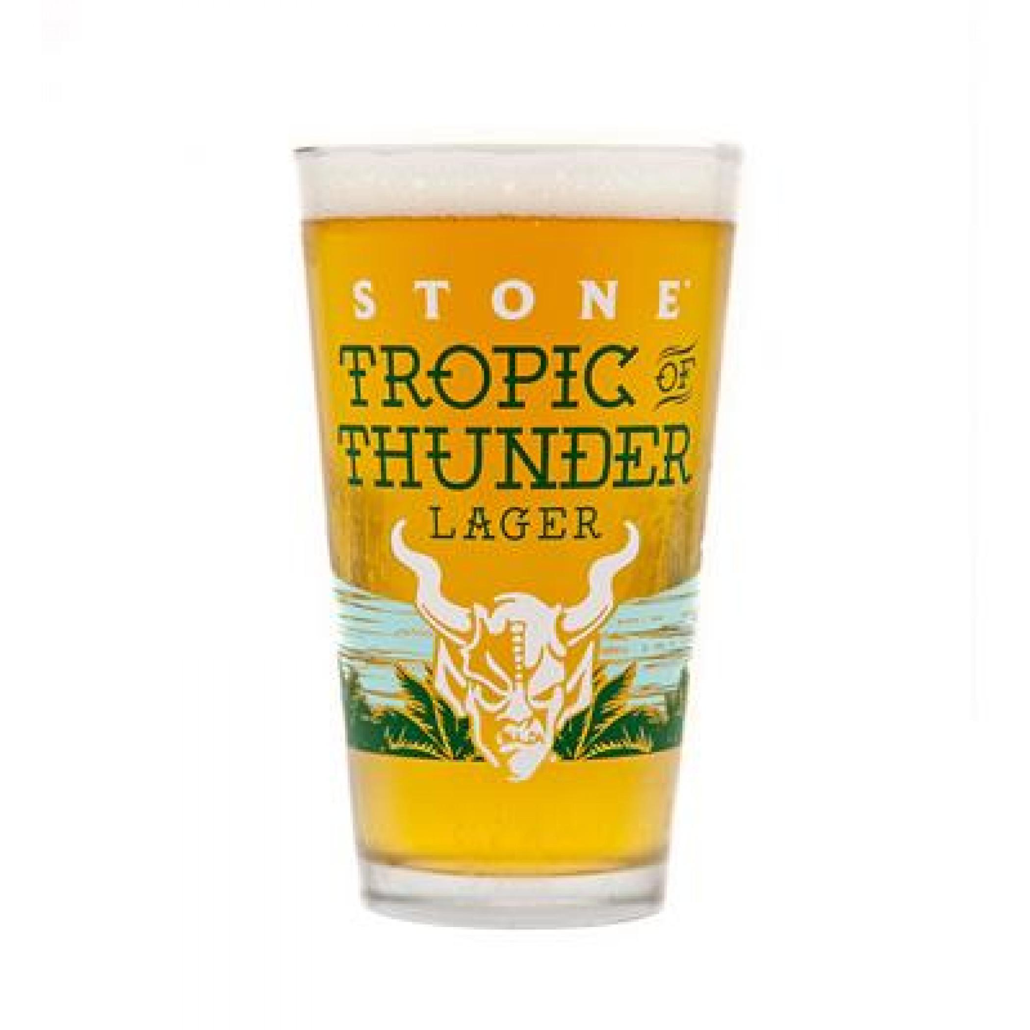 Stone Brewery Thunder Tropic Pint Glass