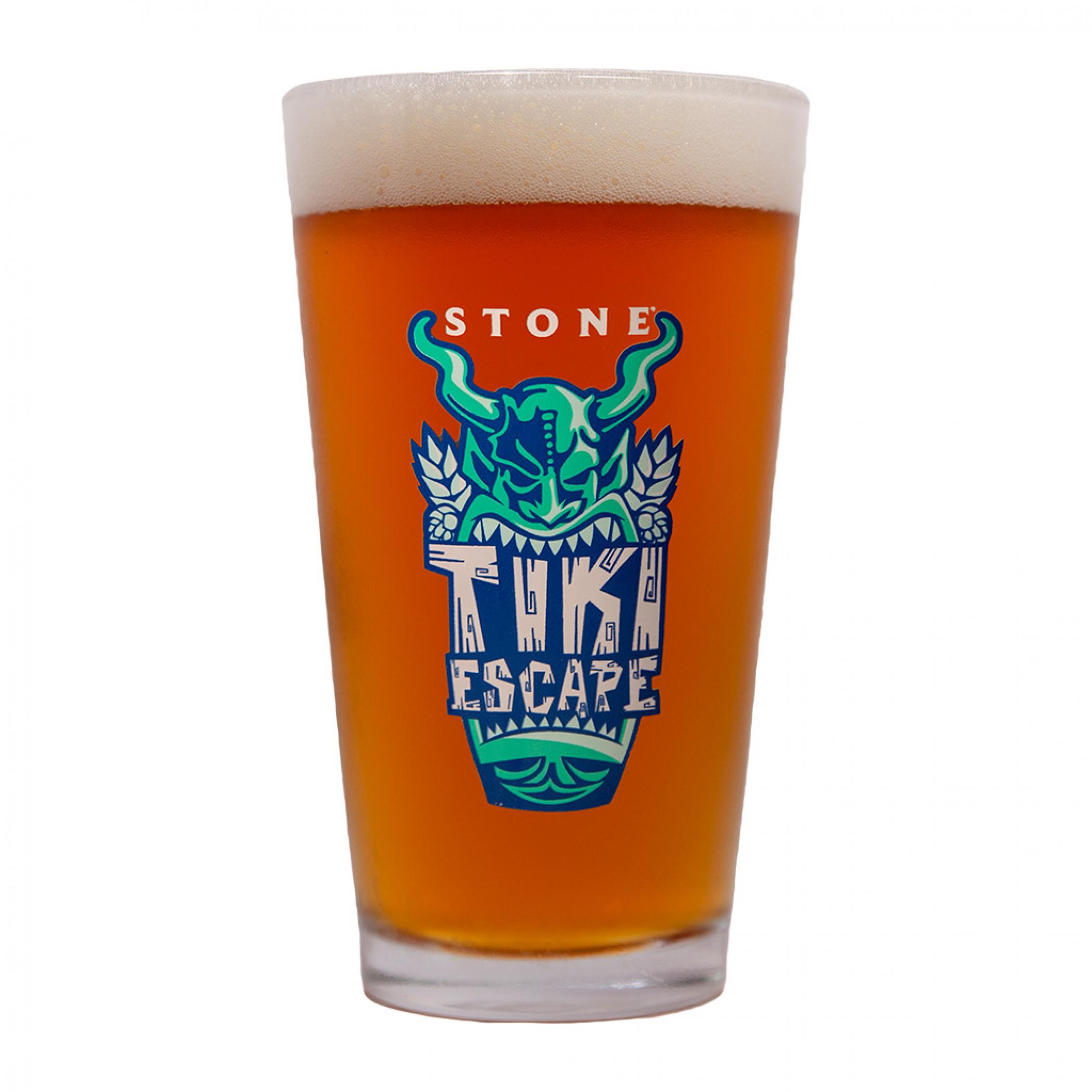 Stone Brewery Tiki Escape Pint Glass