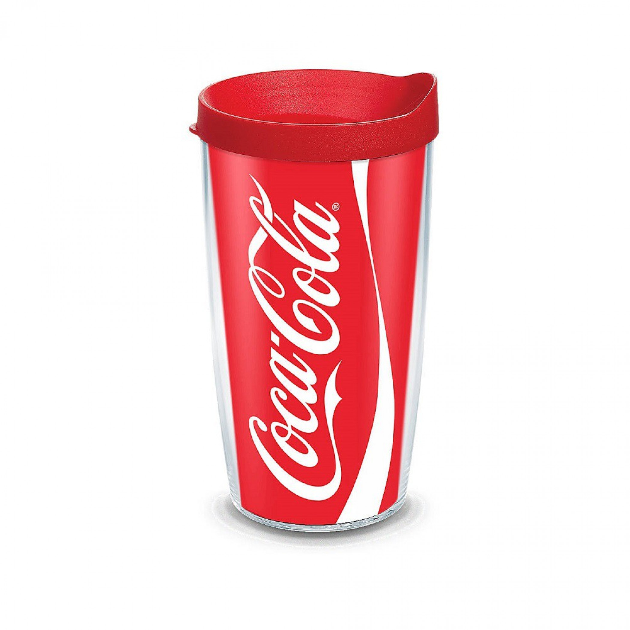 Coca-Cola 16 Ounce Plastic Tumbler