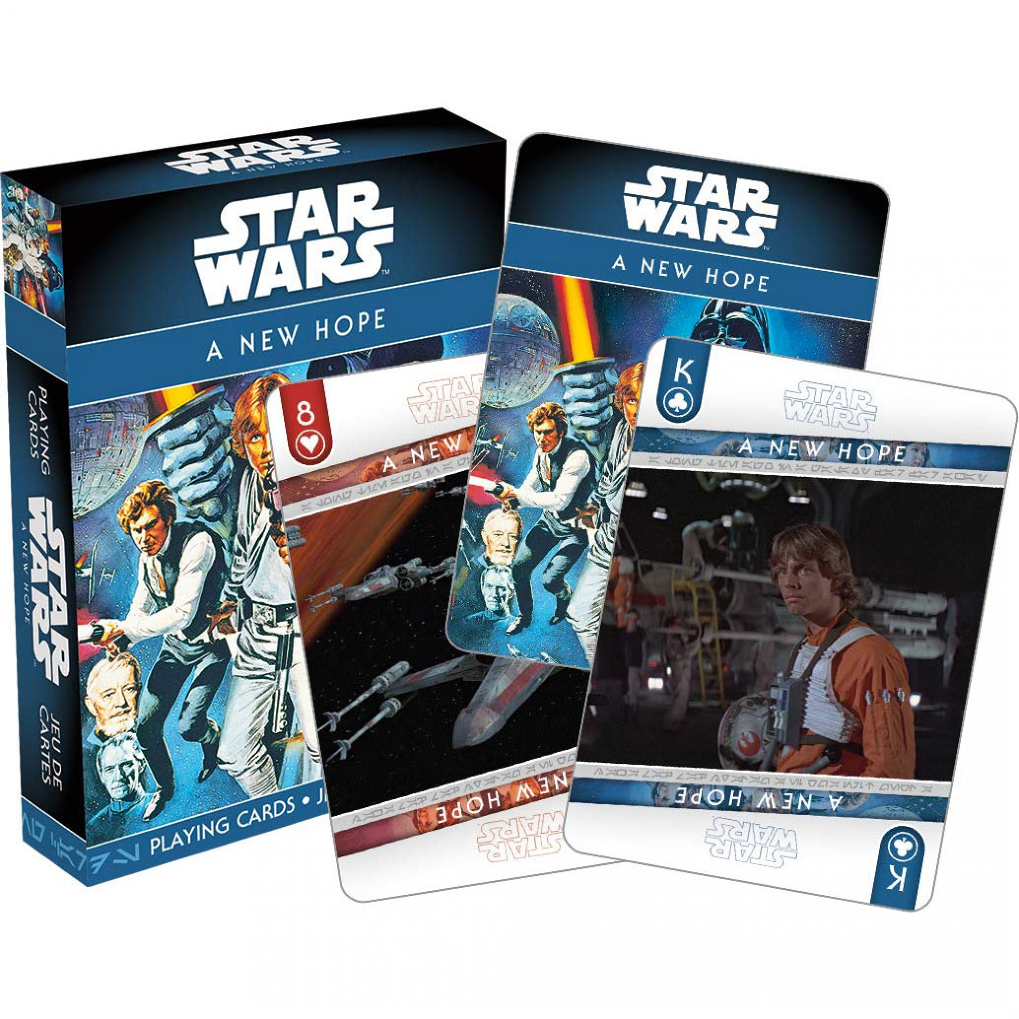 Star Wars Episode Iv A New Hope Playing Cards