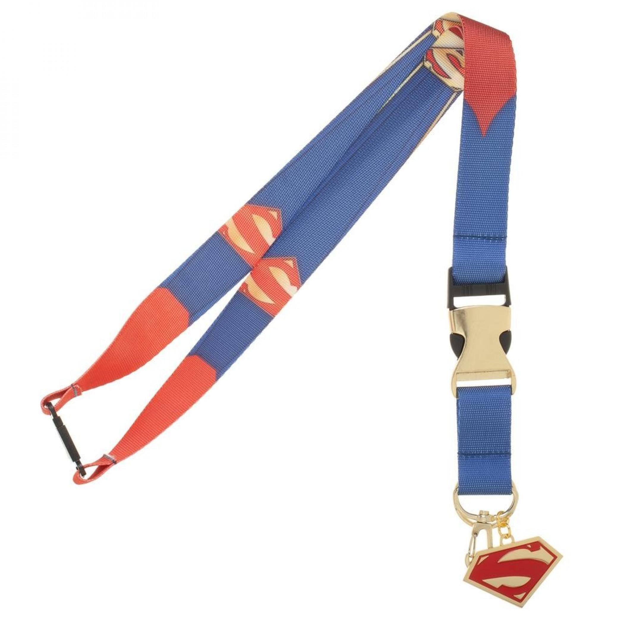 Superman Suit-Up Lanyard