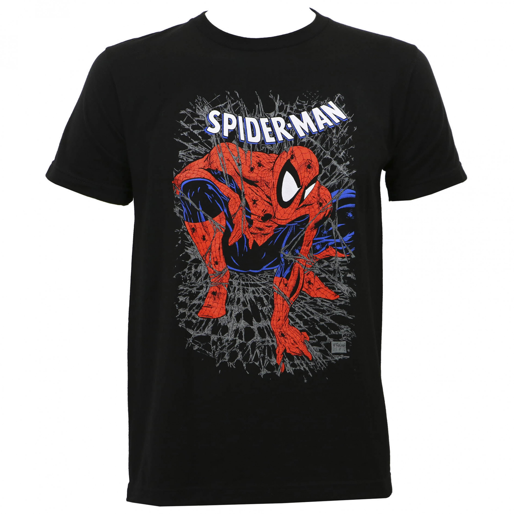 Spider-Man Tangled Web Men's T-Shirt