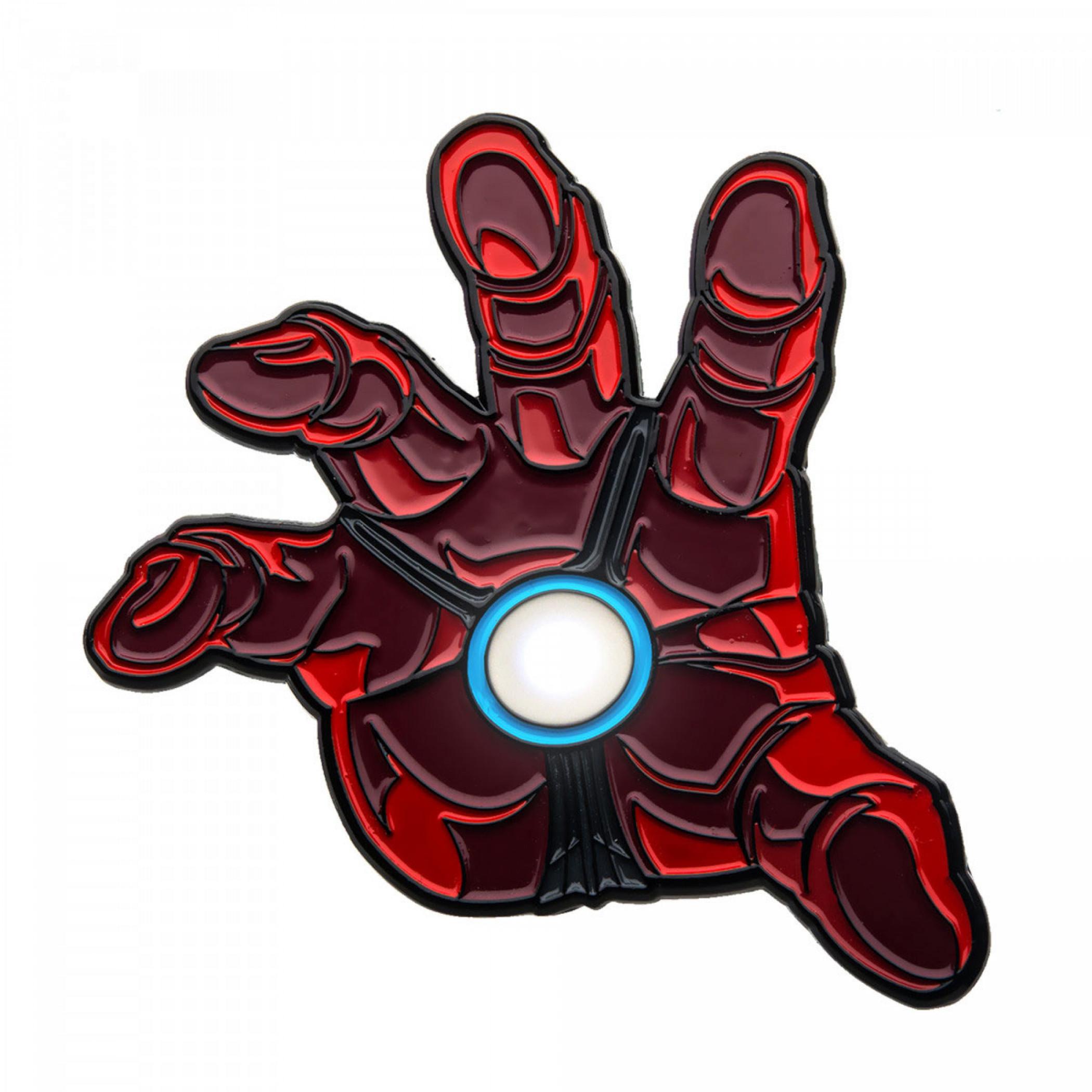 Iron Man Repulsor Light Up Pin