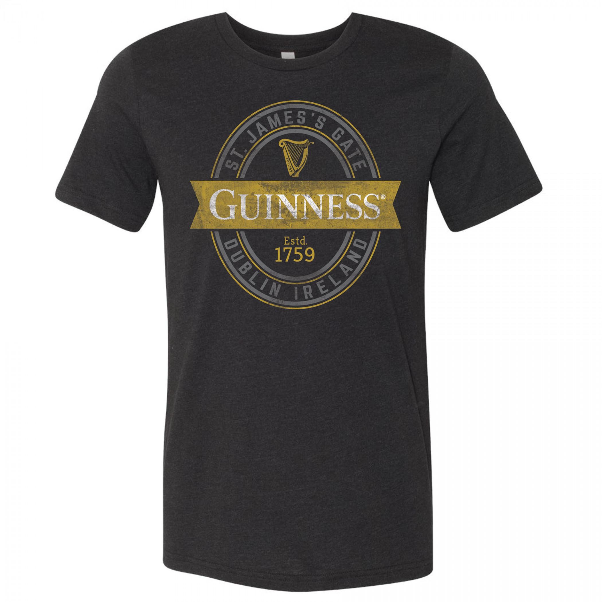 Guinness St. James Gate Black T-Shirt