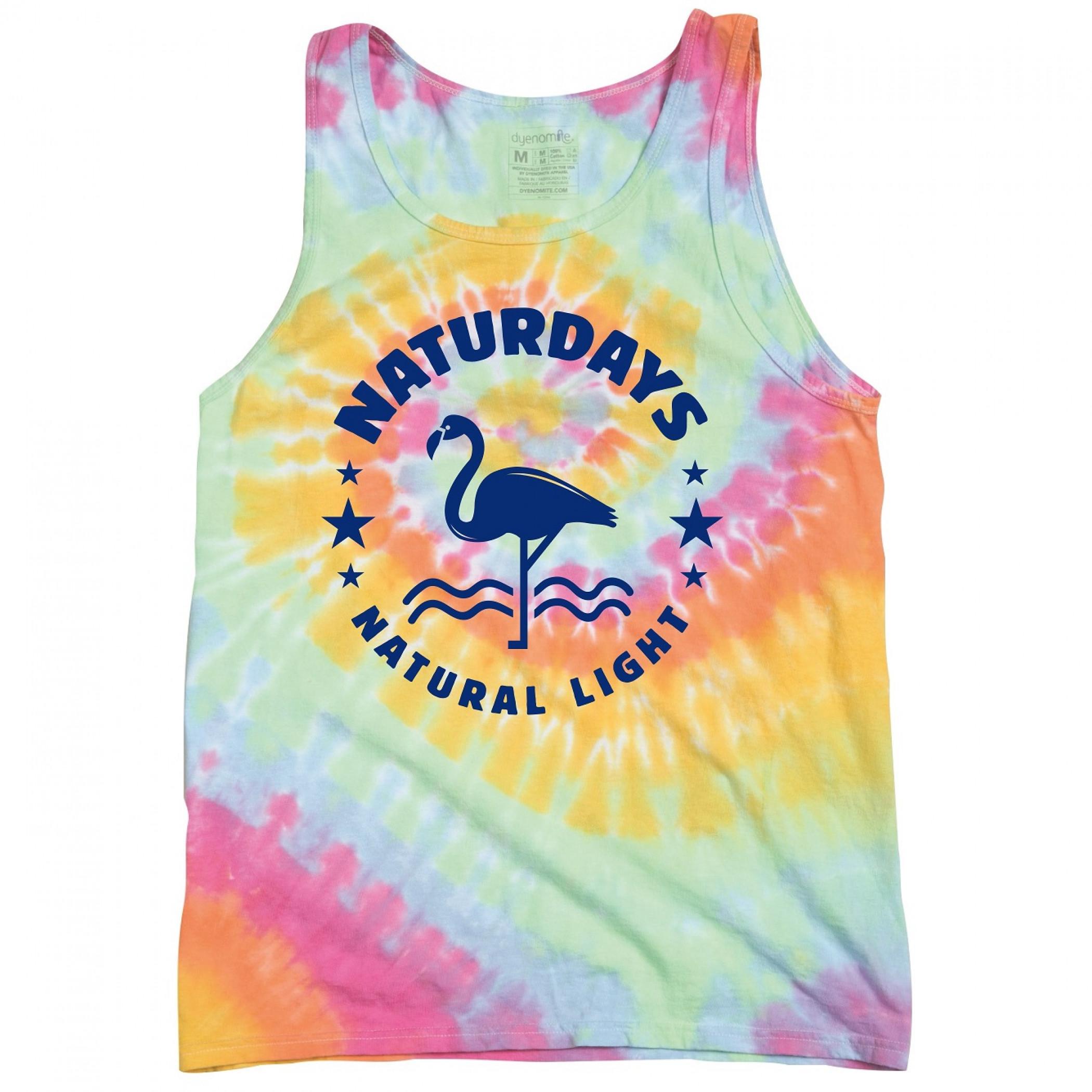 Natural Light Naturdays Tie Dye Tank Top