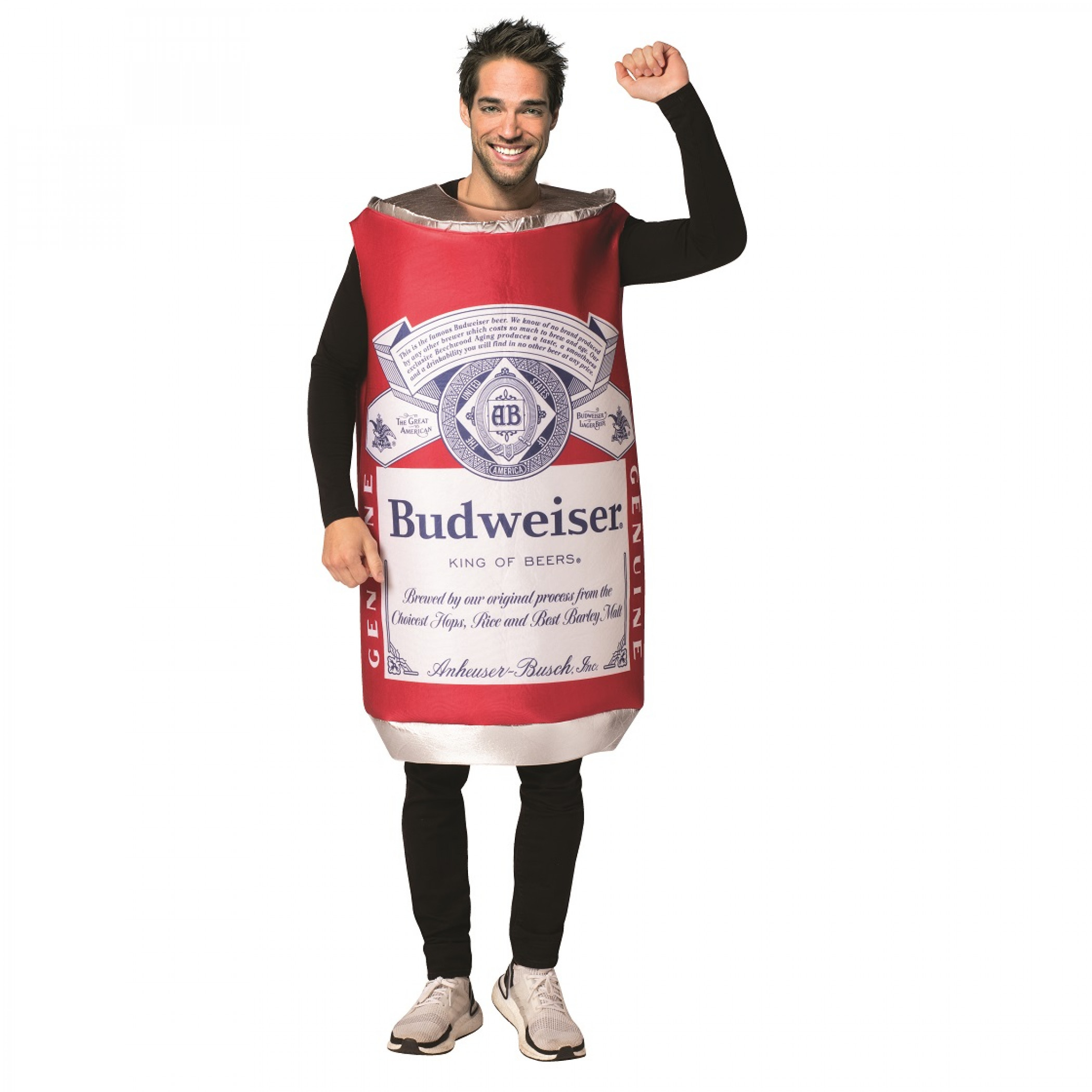 Budweiser Vintage Can Tunic Costume