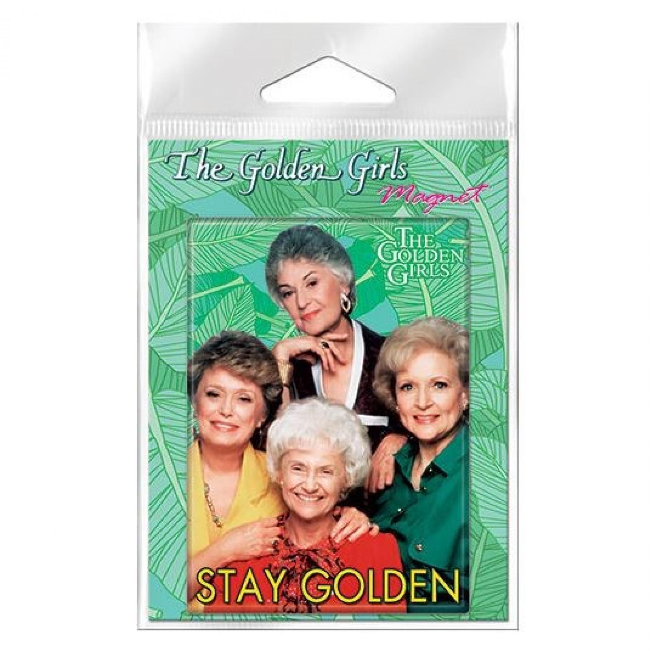 Golden Girls Stay Golden Carded Magnet