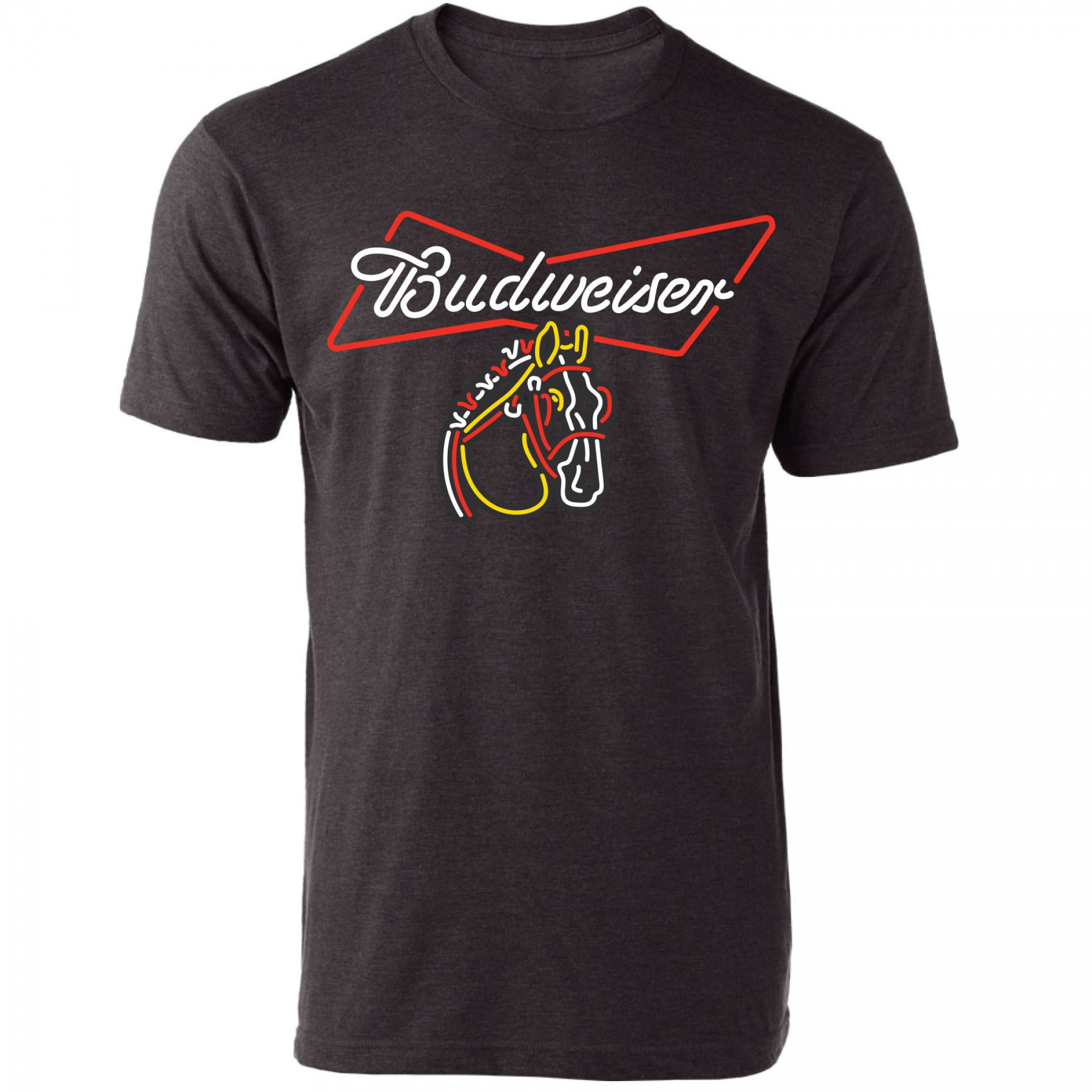 Budweiser Clydesdale Neon Sign T-Shirt