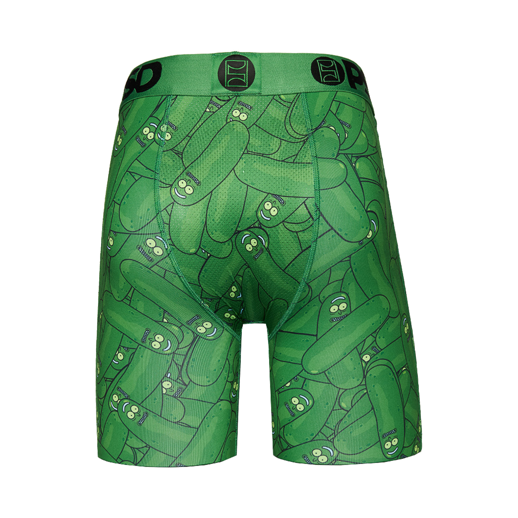 Rick and Morty Pickle Rick All Around Men's Boxer Briefs