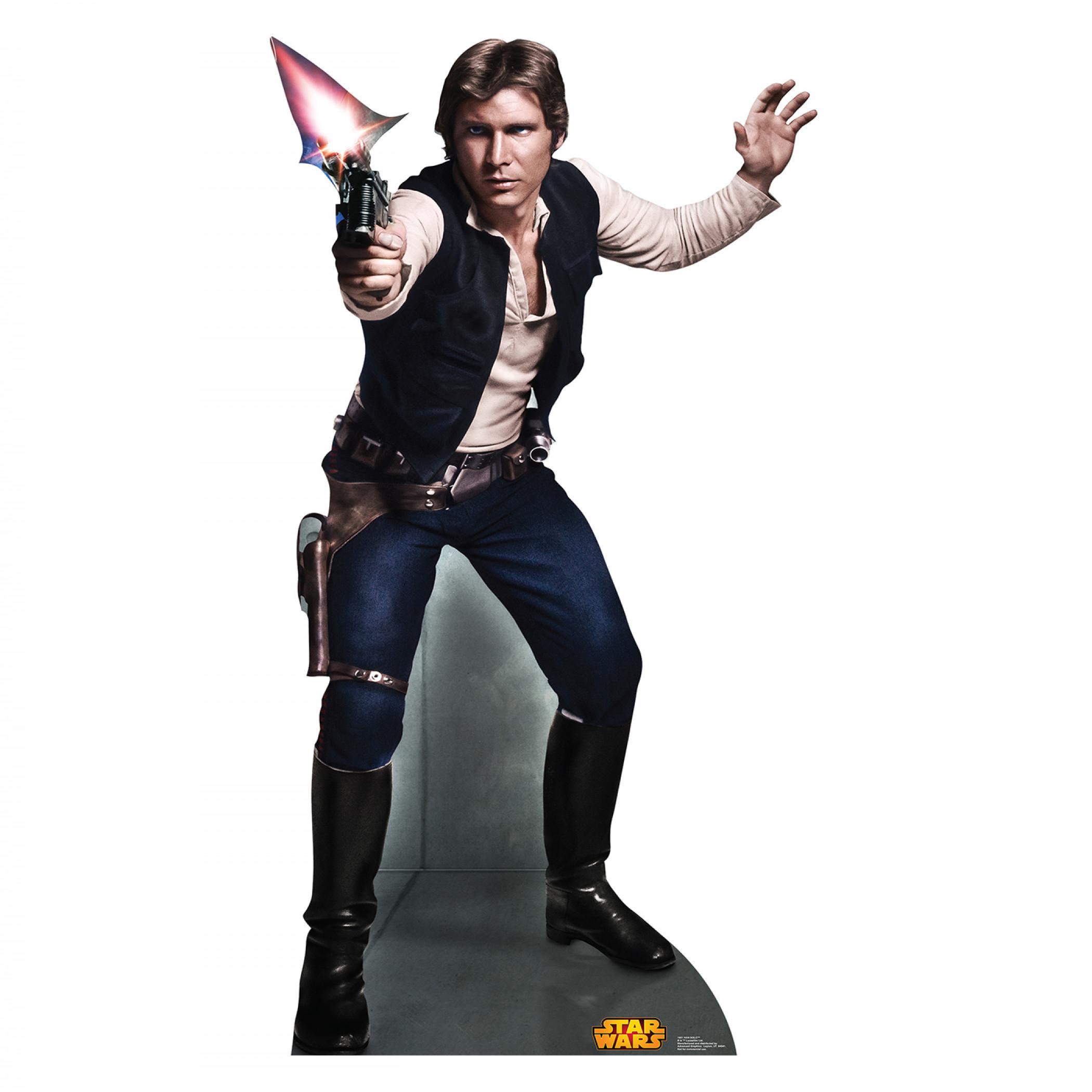 Star Wars Han Solo Cardboard Stand Up