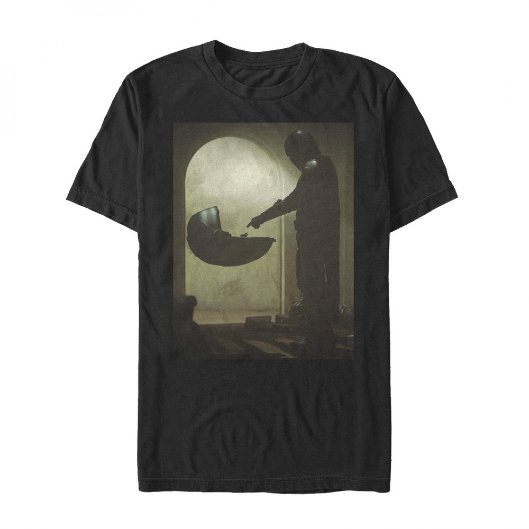 The Mandalorian First Meet Black T-Shirt