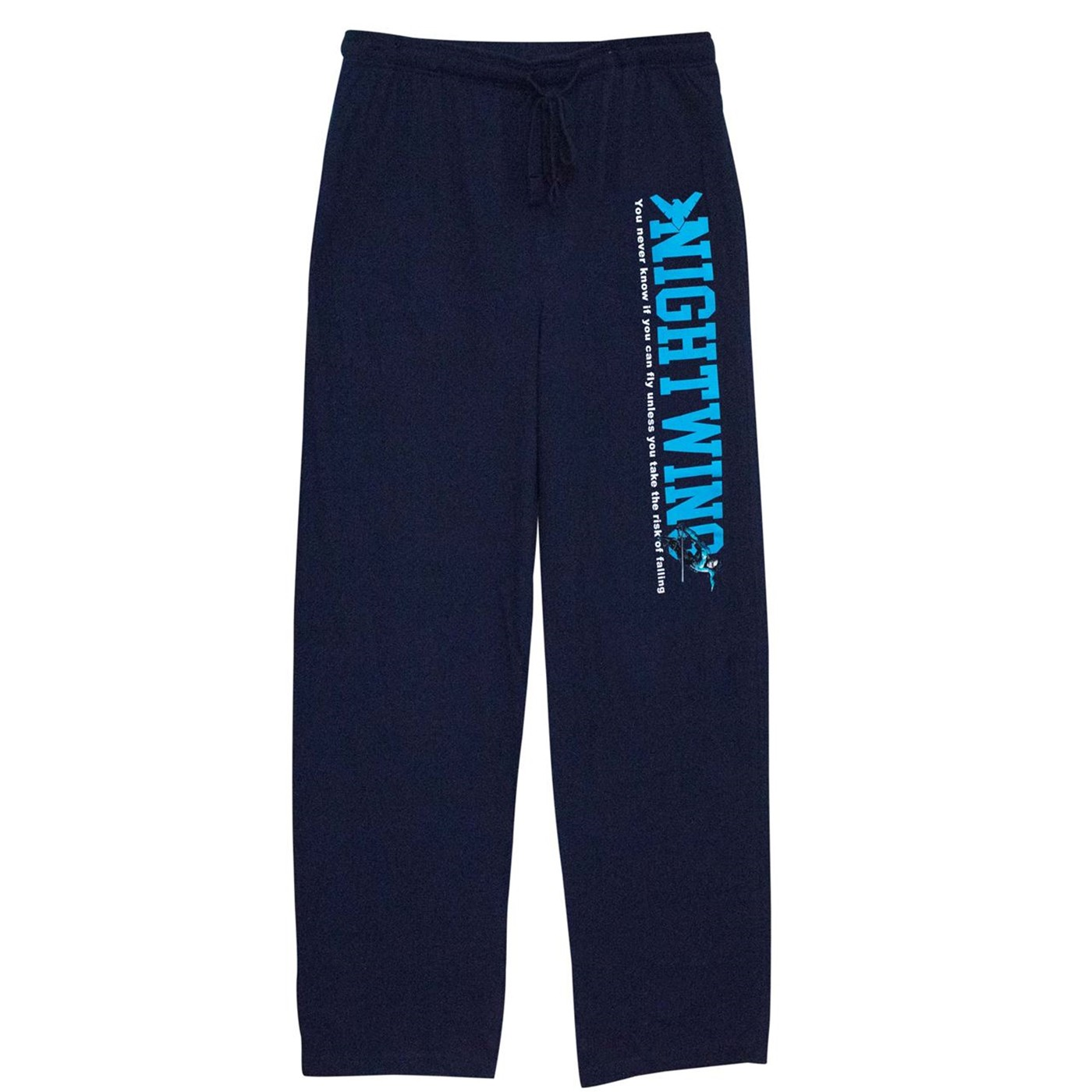 Nightwing Falling Navy Unisex Pajama Pants