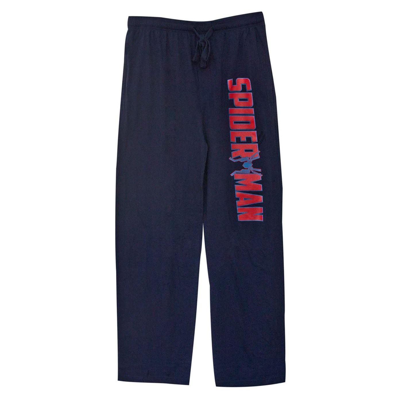Spider-Man Iron Spider Logo Navy Unisex Sleep Pants
