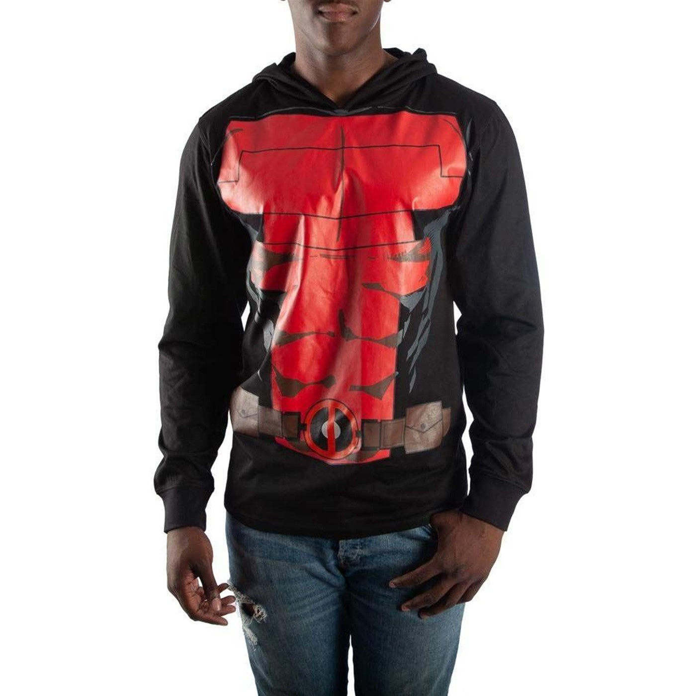 Deadpool Light Weight Suit Up Costume Hoodie
