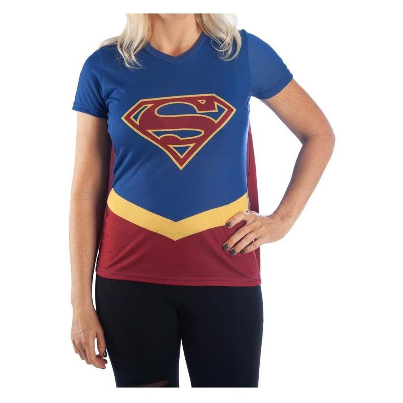 Supergirl Caped Costume Women's T-Shirt