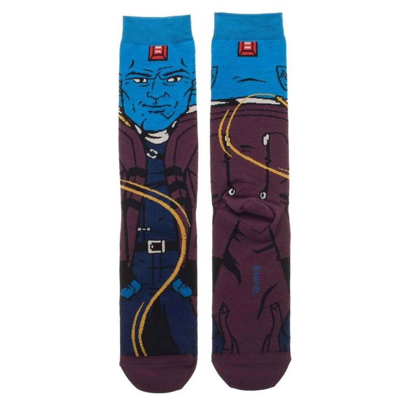 Guardians of the Galaxy Yondu Character Crew Sock