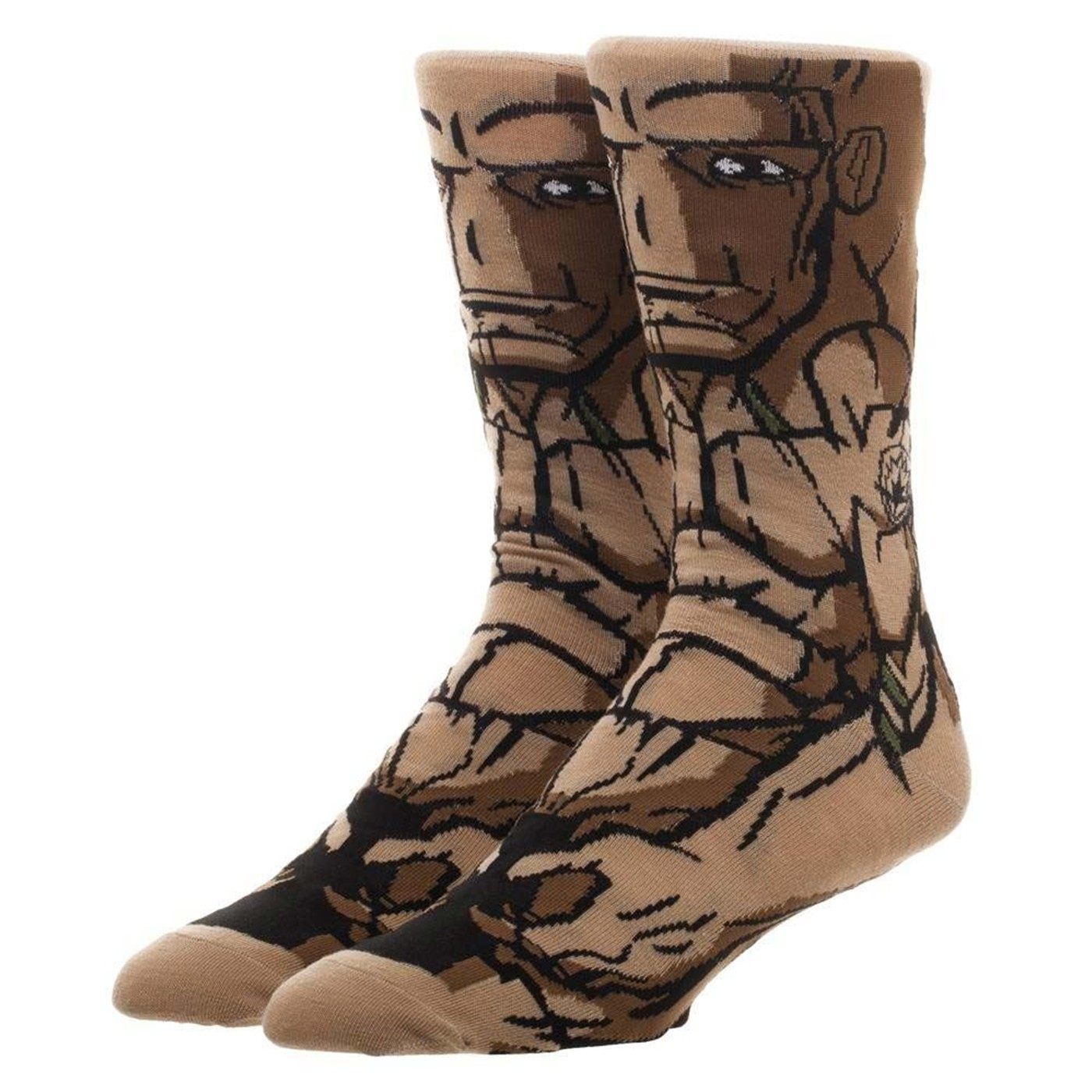 Guardians of the Galaxy Groot Character Crew Sock
