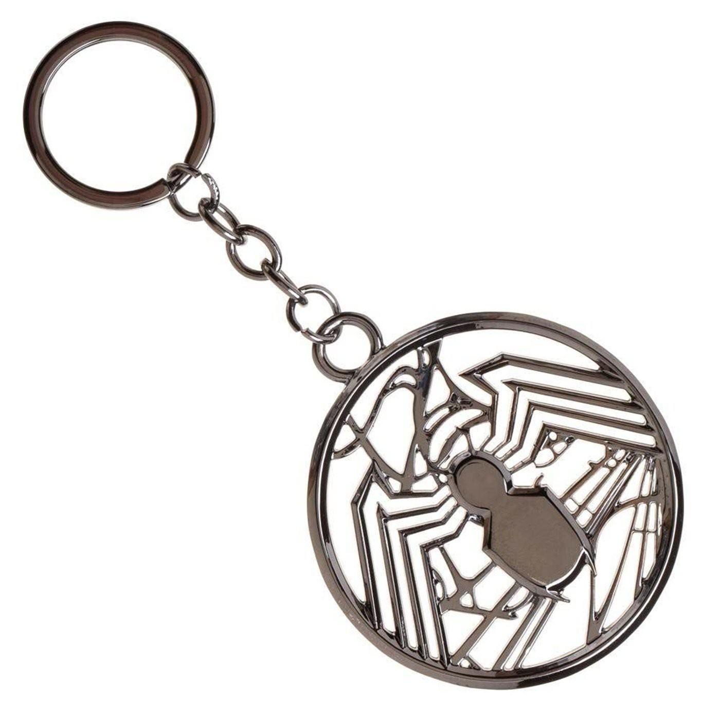 Venom Logo Keychain
