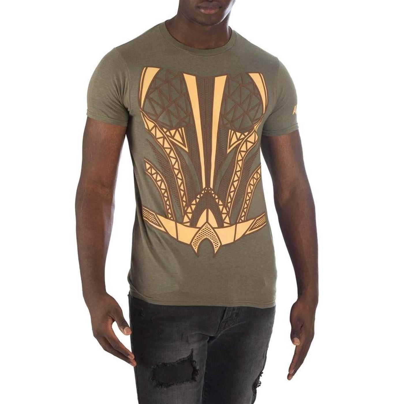 Aquaman Suit Up HD Men's Character Costume Men's T-Shirt
