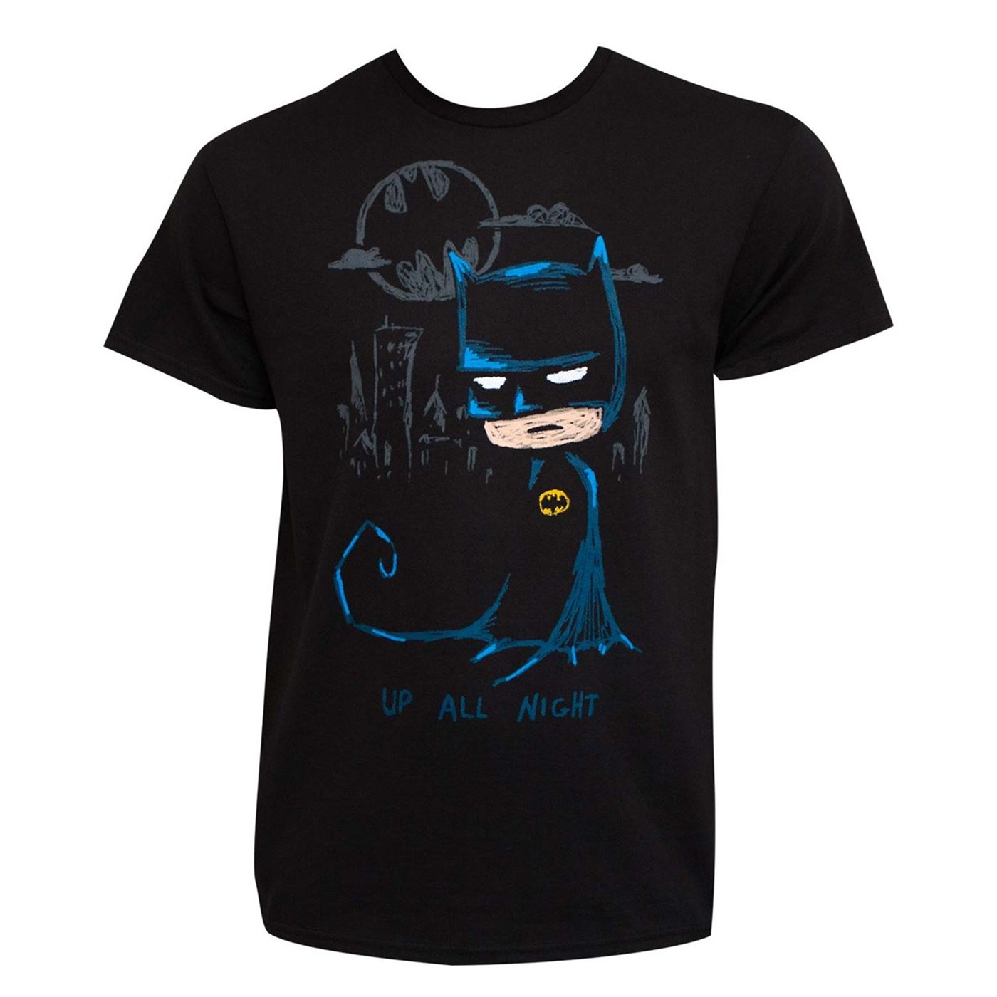 Batman Lonely Night Men's T-Shirt