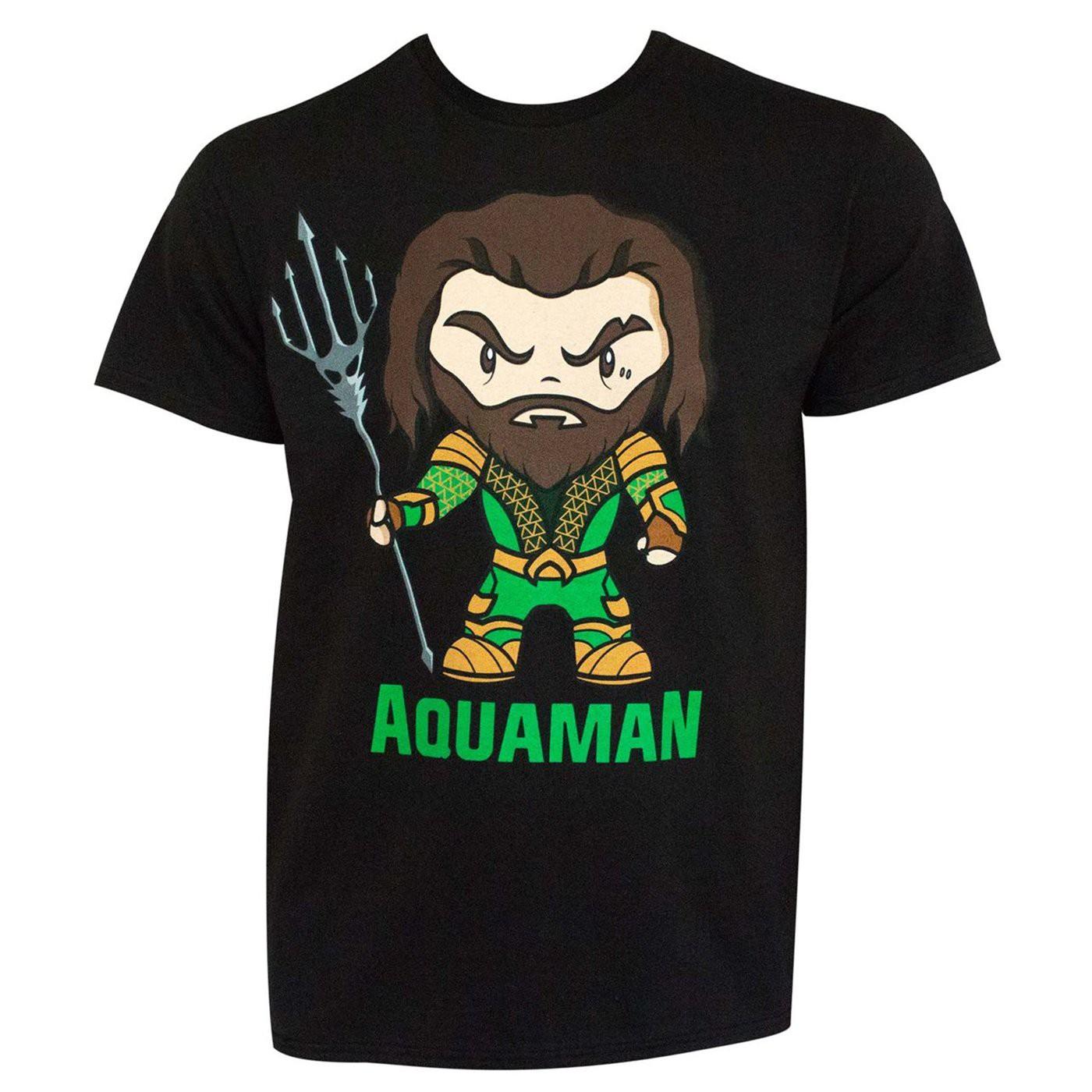 Aquaman Movie Cartoon Men's T-shirt