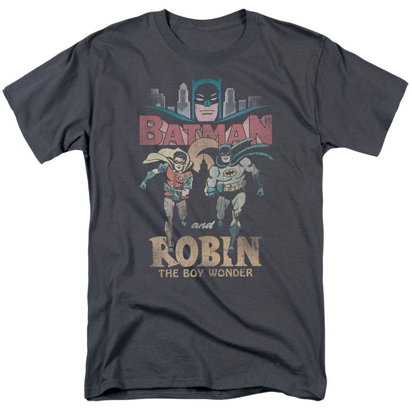 Batman and Robin Classic Duo Men's T-shirt