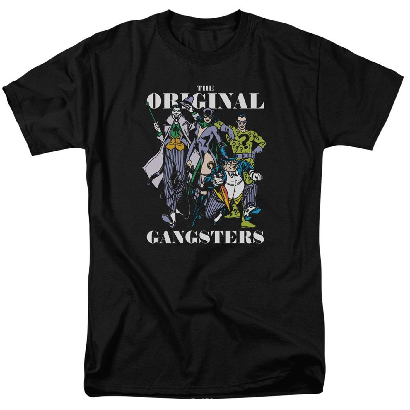The Original Gansters Batman's Villains Men's T-Shirt