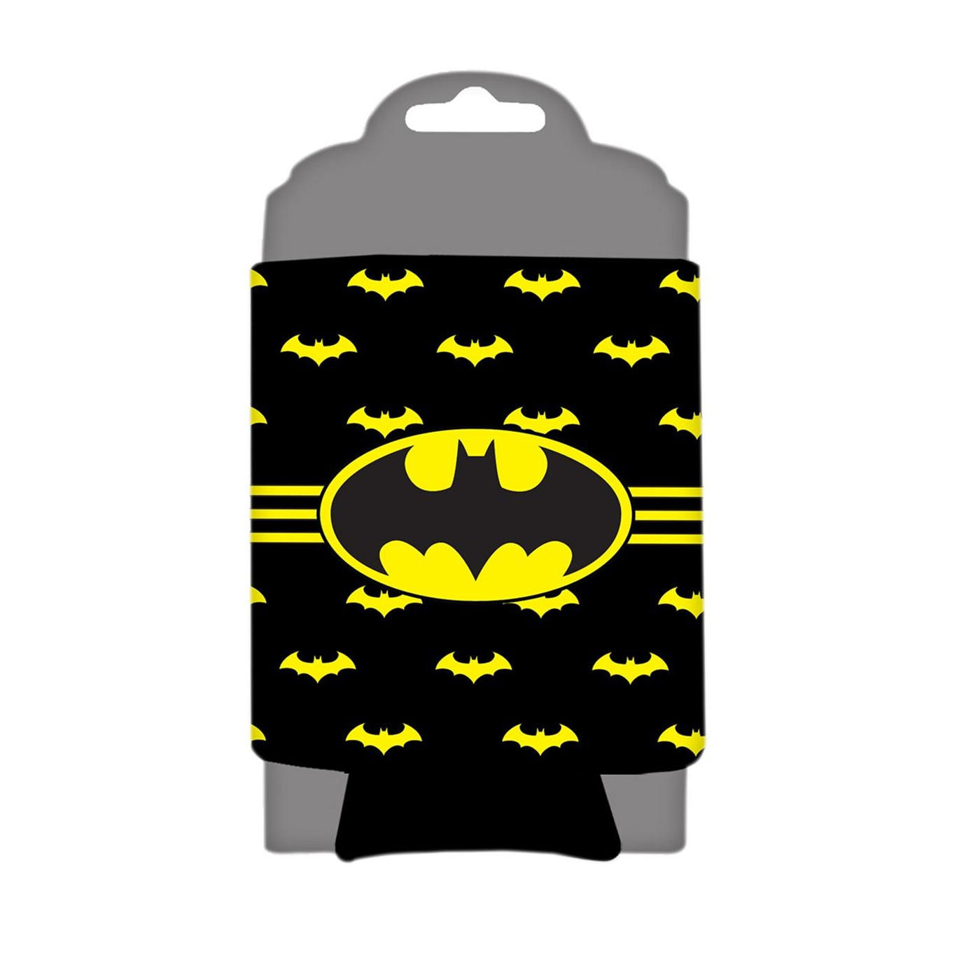 Batman Striped Can Cooler