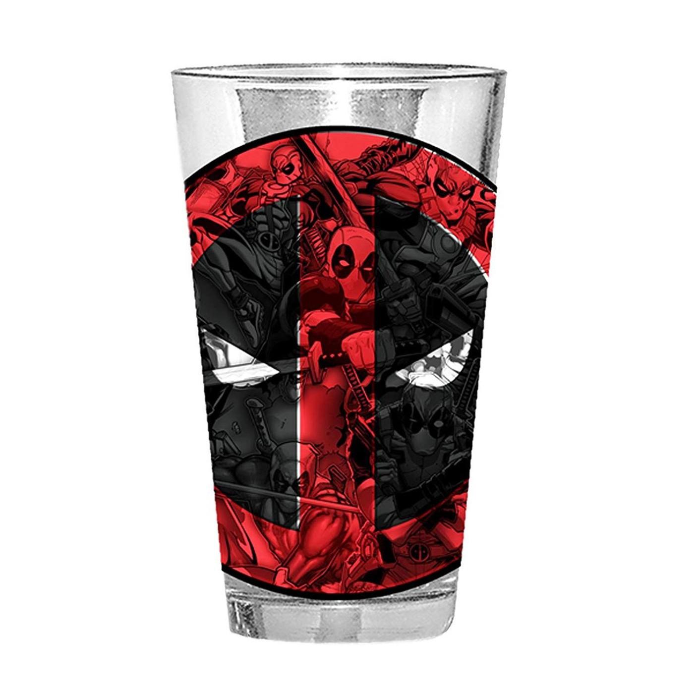Deadpool Action Pint Glass