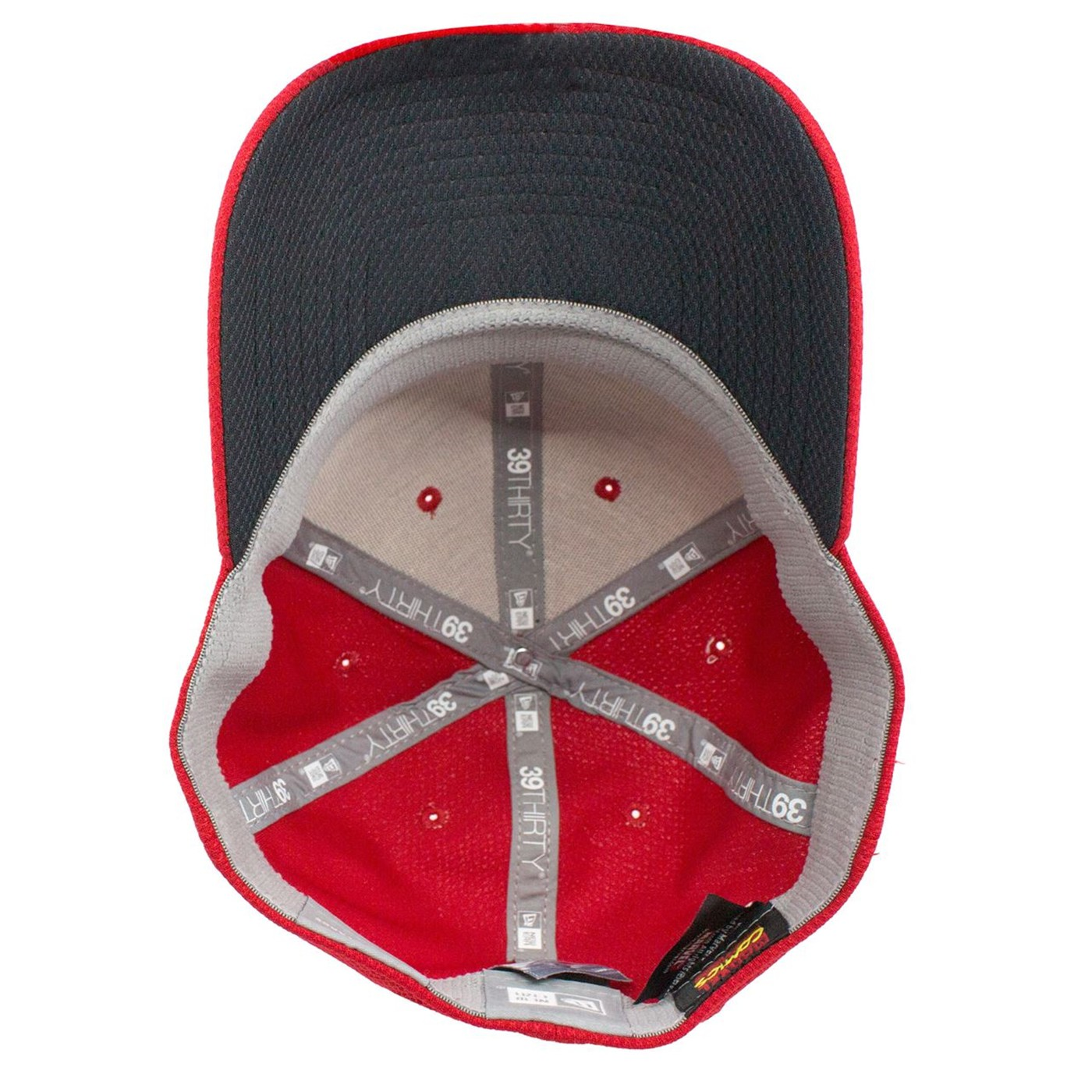 Captain Marvel Scarlet Red New Era 39Thirty Flex Fit Hat