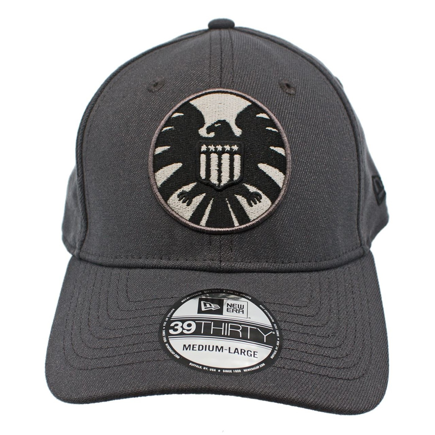 SHIELD Graphite New Era 39Thirty Flex Fit Hat