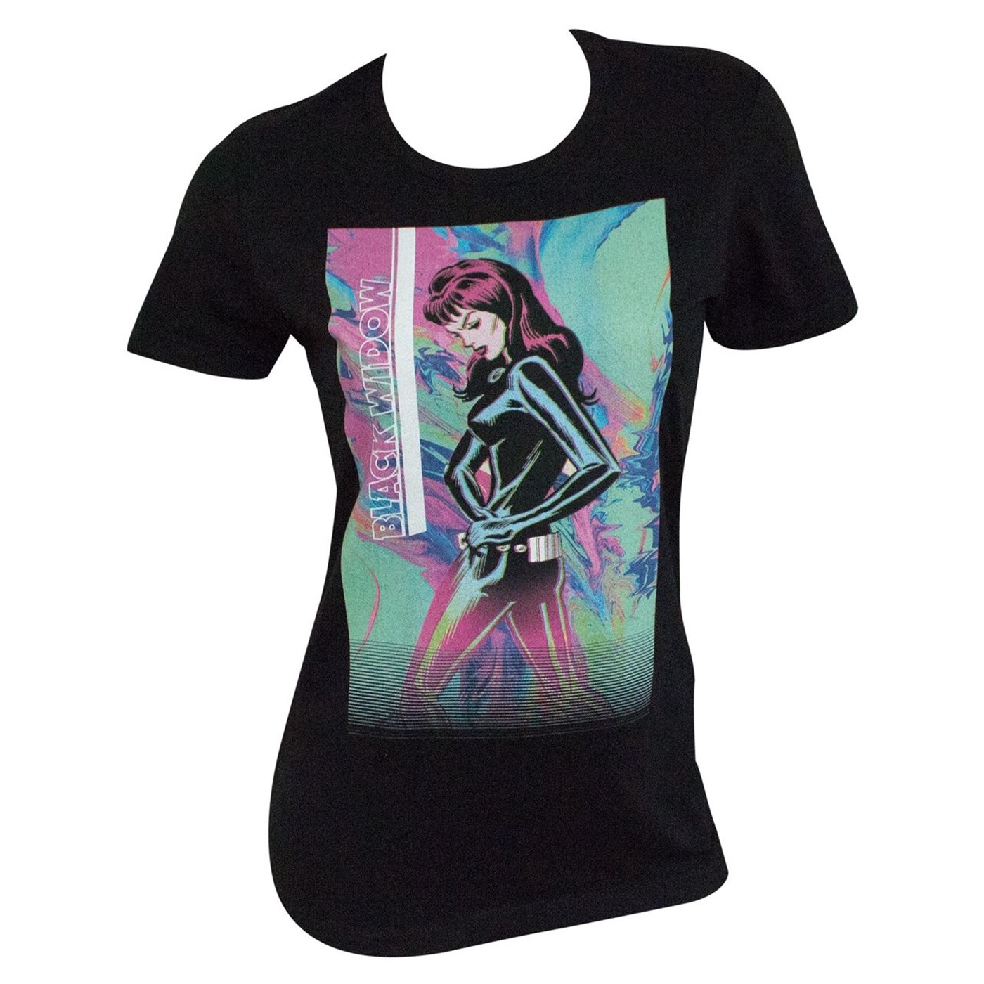 Black Widow Neon Women's T-Shirt