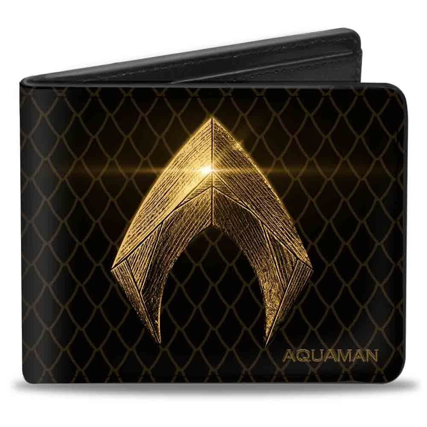 Aquaman Symbol & Scales Bi-fold Wallet