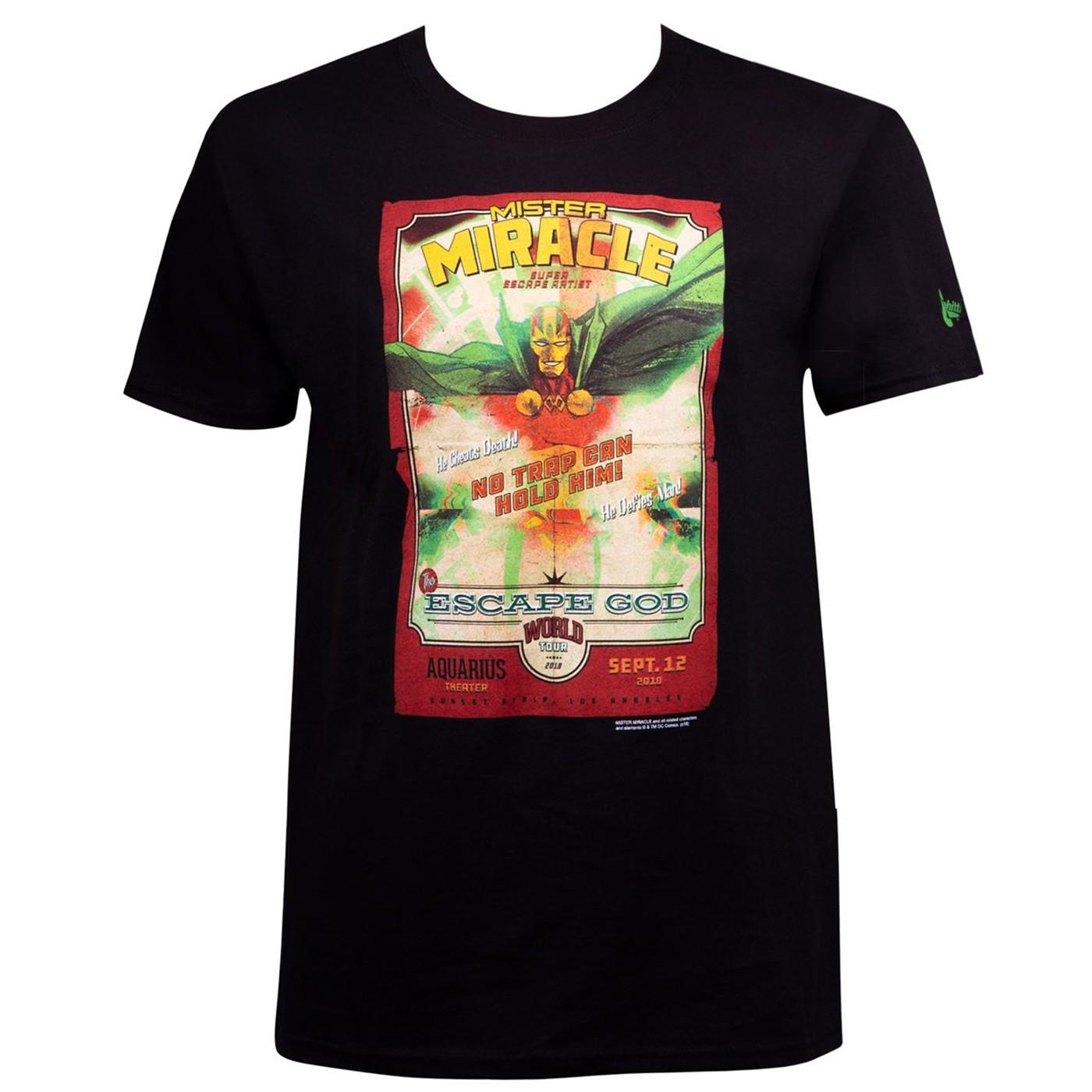 Mister Miracle DC Men's T-Shirt
